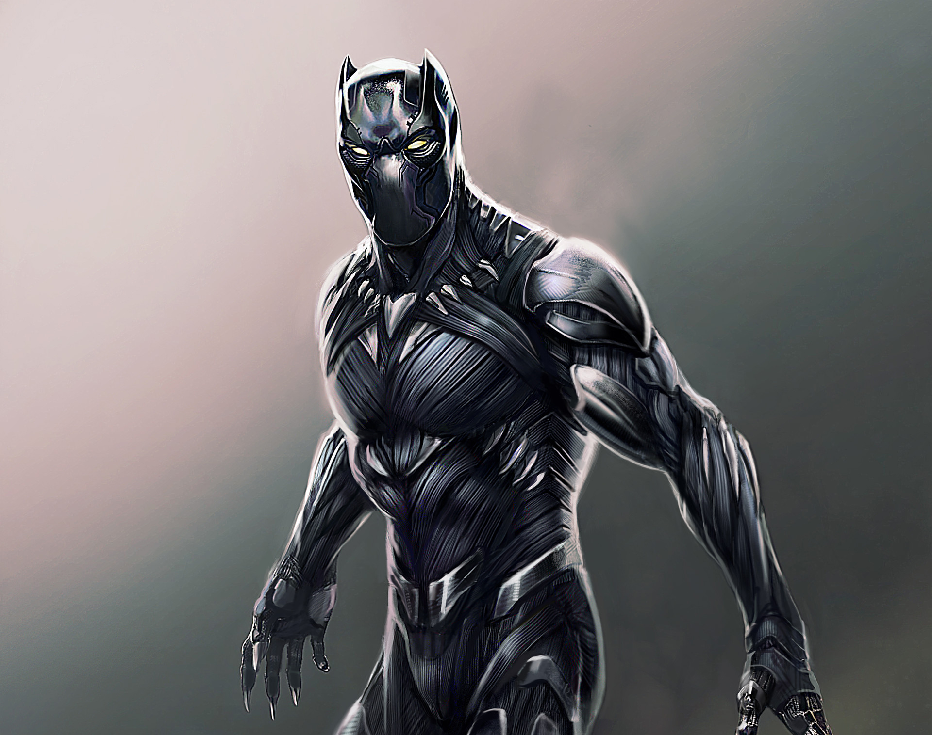 1280x800 Black Panther Digital Artwork 720p Hd 4k Wallpapers