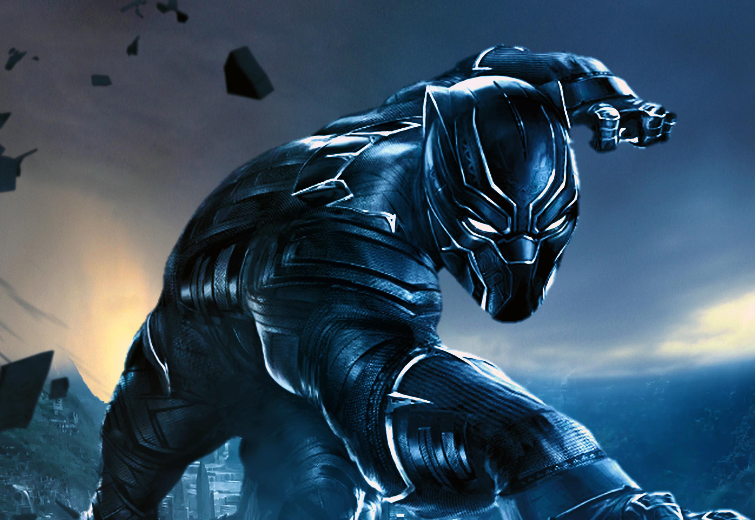 Black Panther Fan Made Hd Movies 4k Wallpapers Images