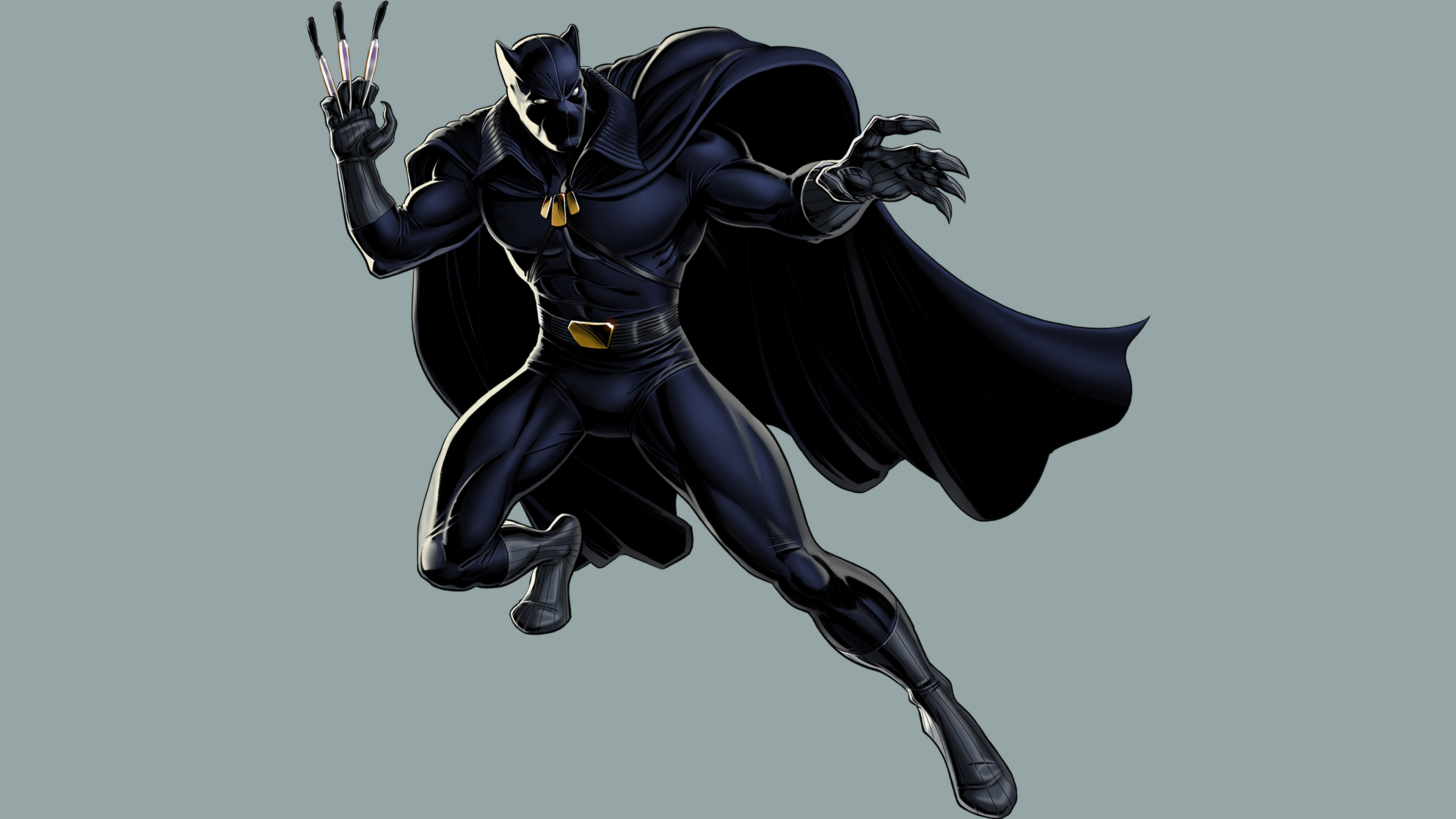 Black Panther Fictional Superhero 2, HD Superheroes, 4k ...