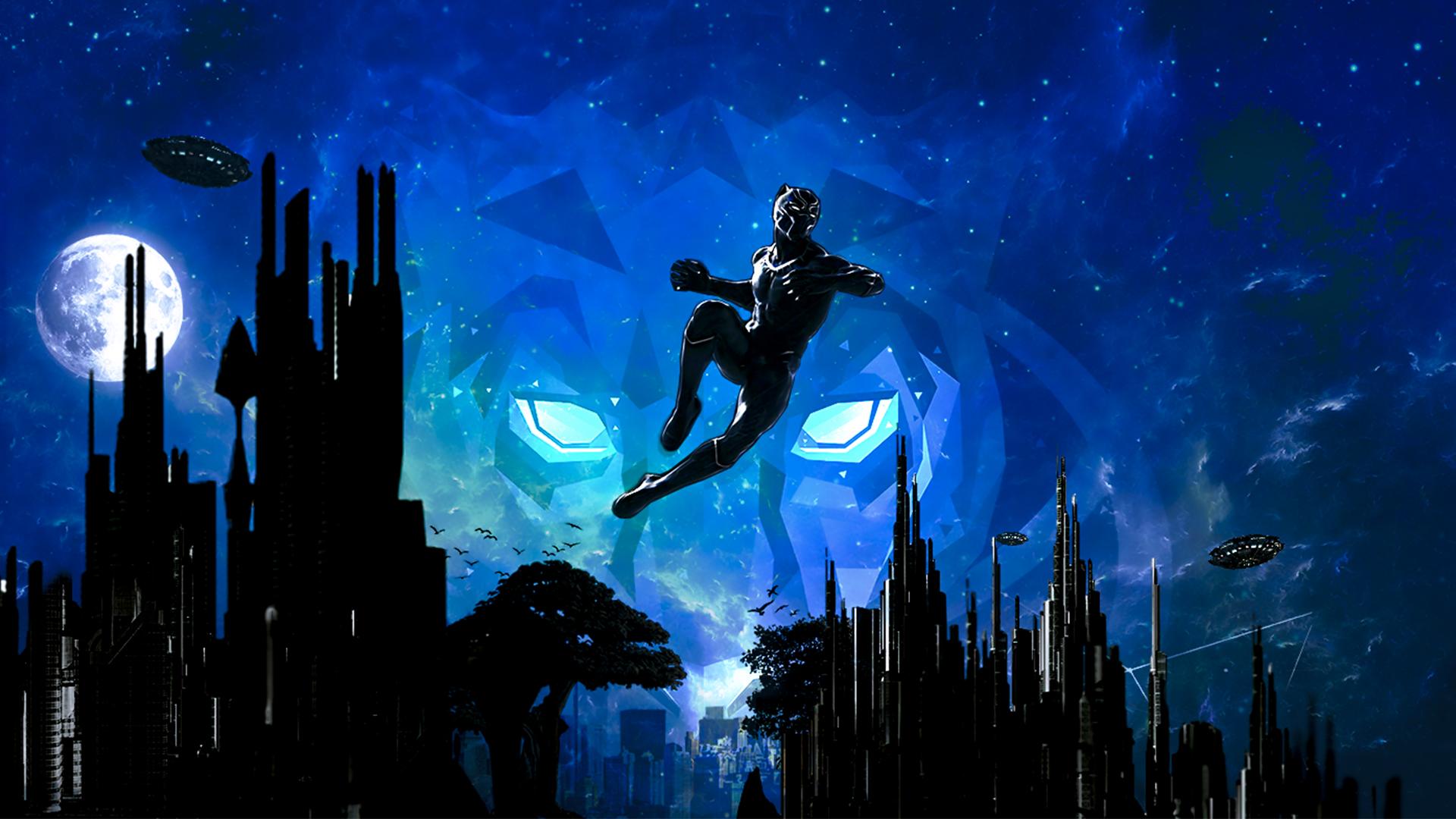 1920x1080 Black Panther Marvel Cinematic Universe Artwork