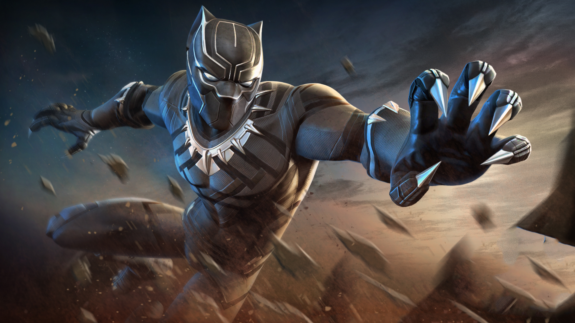 2048x1152 black panther marvel contest of champions 2048x1152