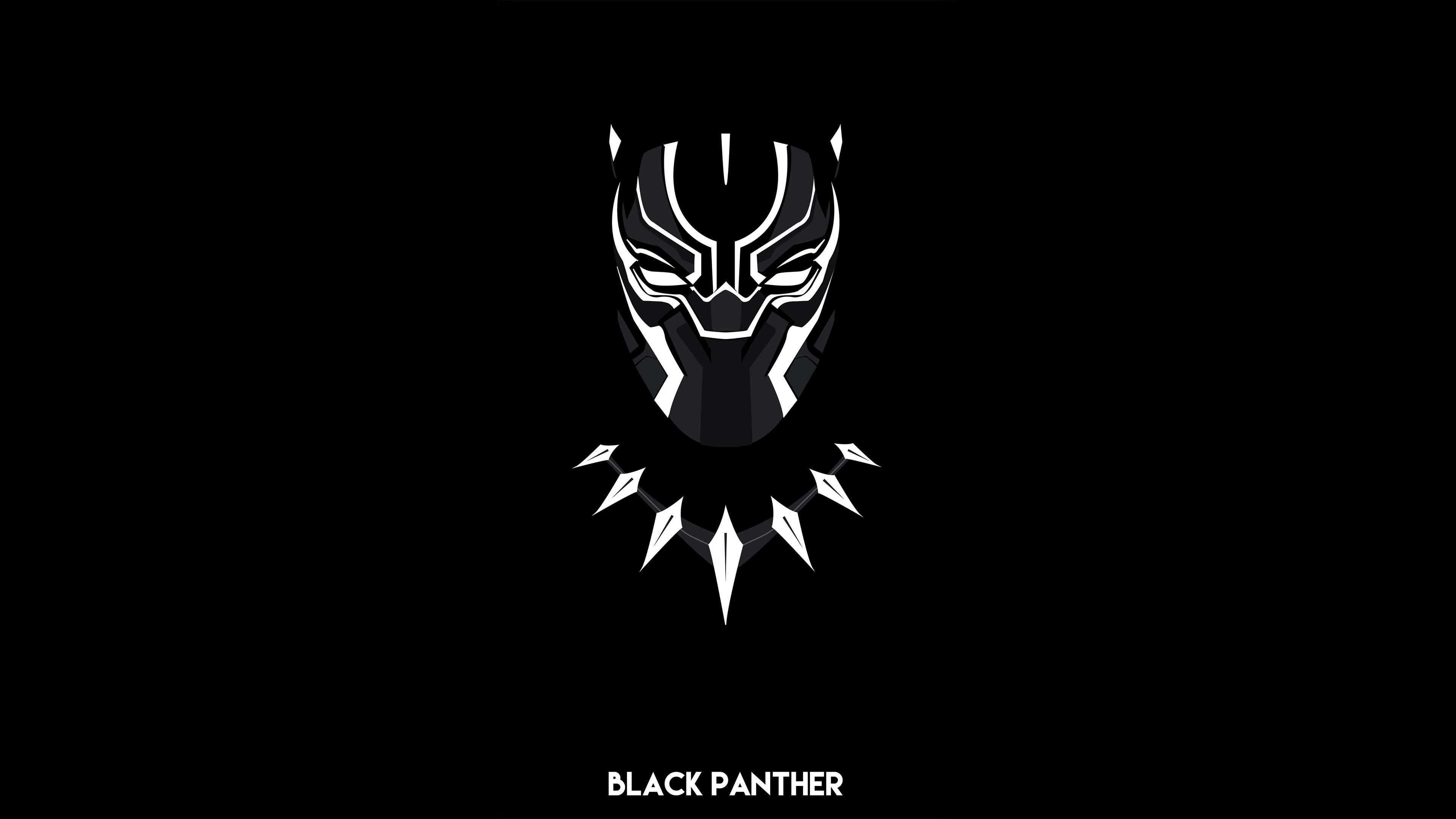 Black Panther Minimal 4k Hd Superheroes 4k Wallpapers