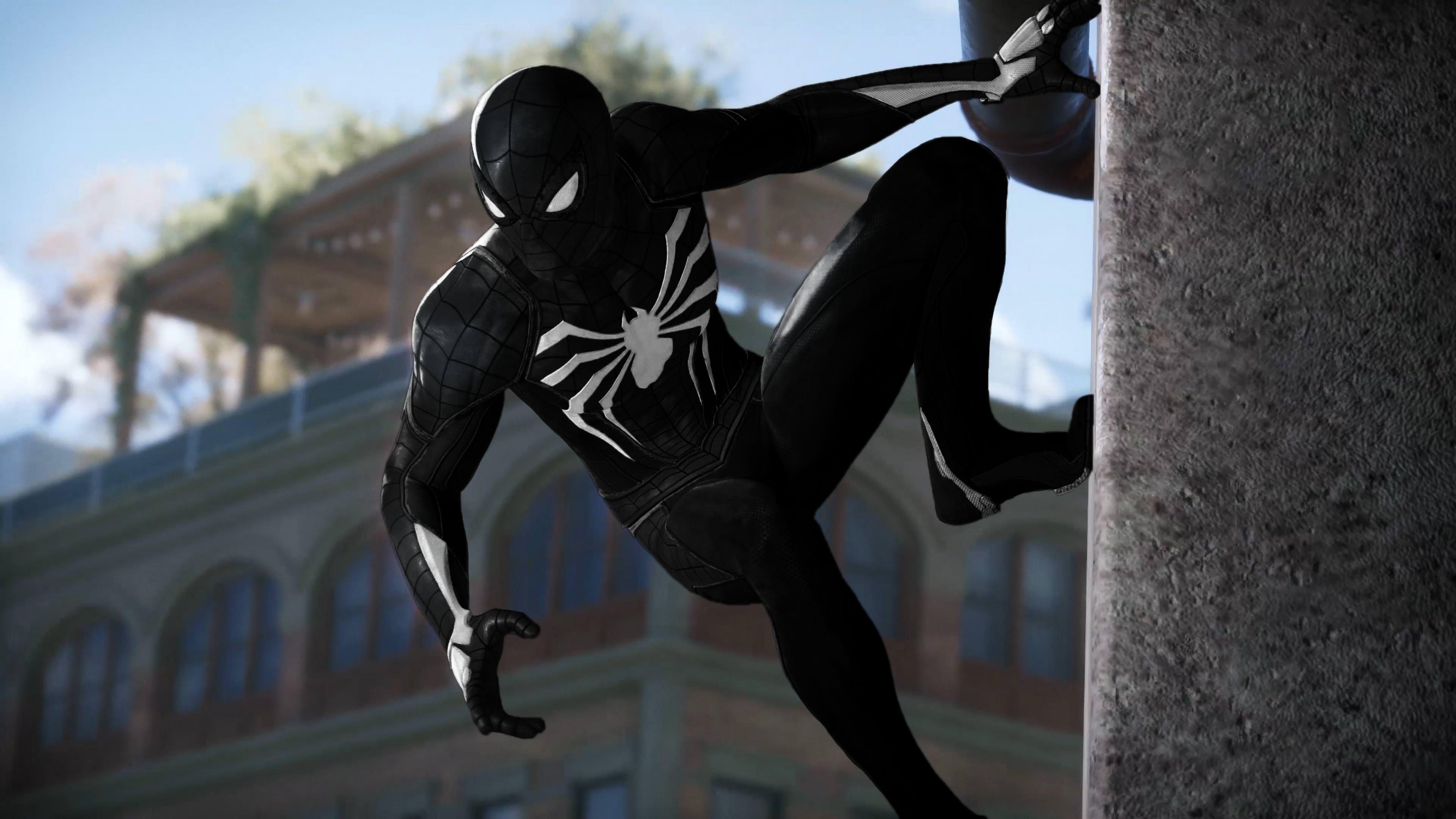 Black Spiderman 4K, Hd Superheroes, 4K Wallpapers, Images -5924