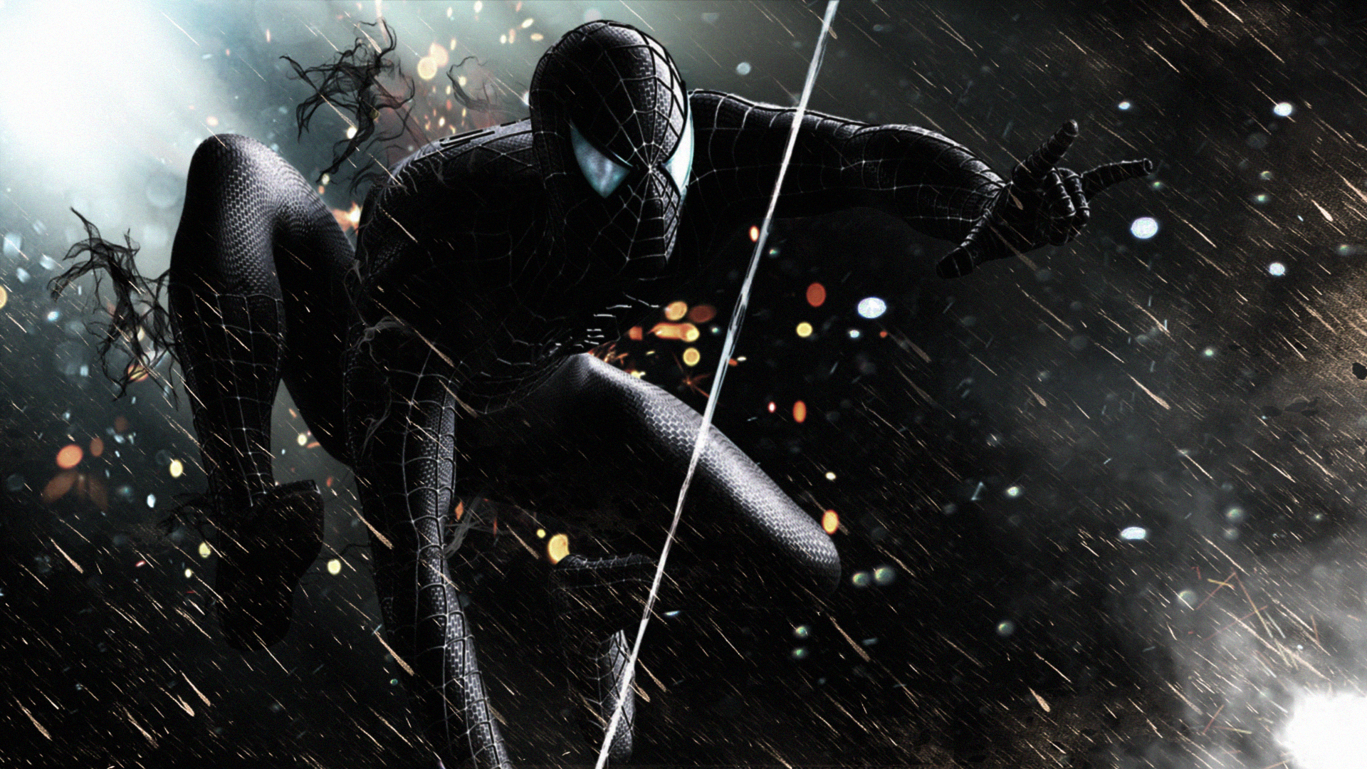 Black Spiderman Hd Superheroes 4k Wallpapers Images Backgrounds