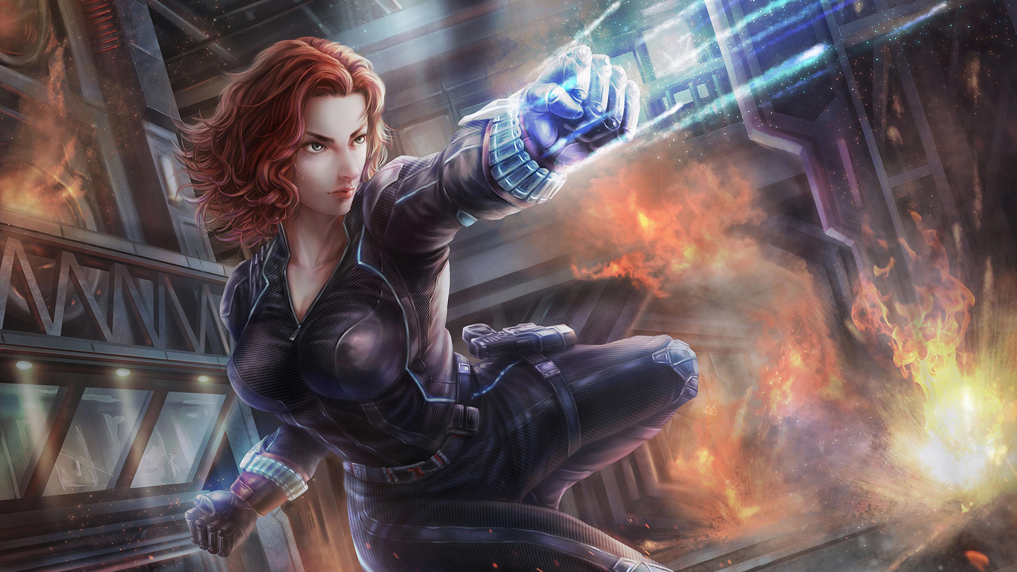 Black Widow 2020, HD Superheroes, 4k Wallpapers, Images