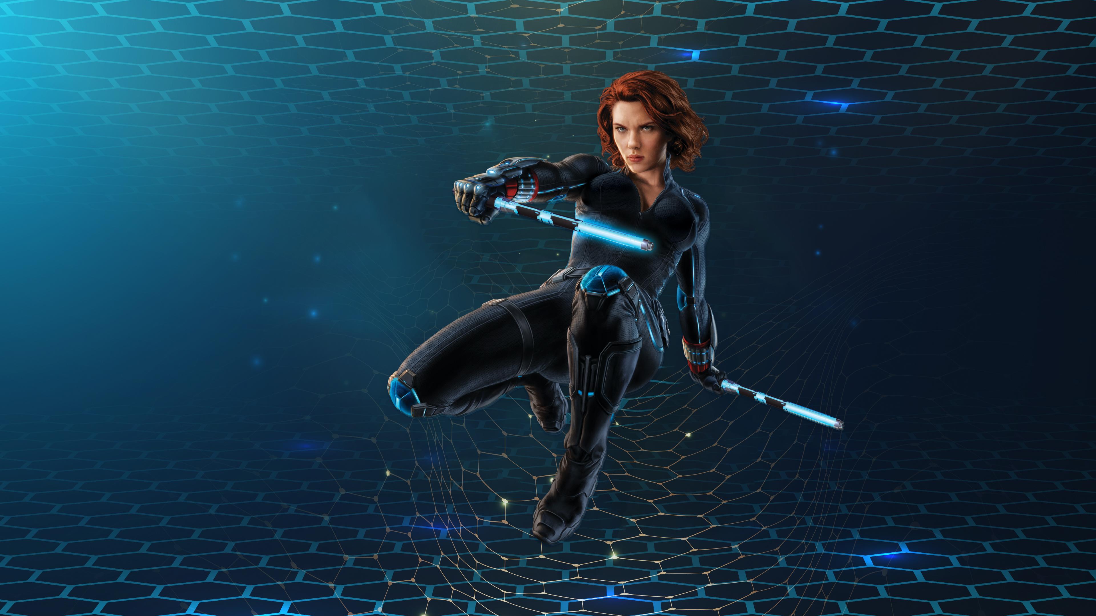 Black Widow 3d 4k Hd Superheroes 4k Wallpapers Images