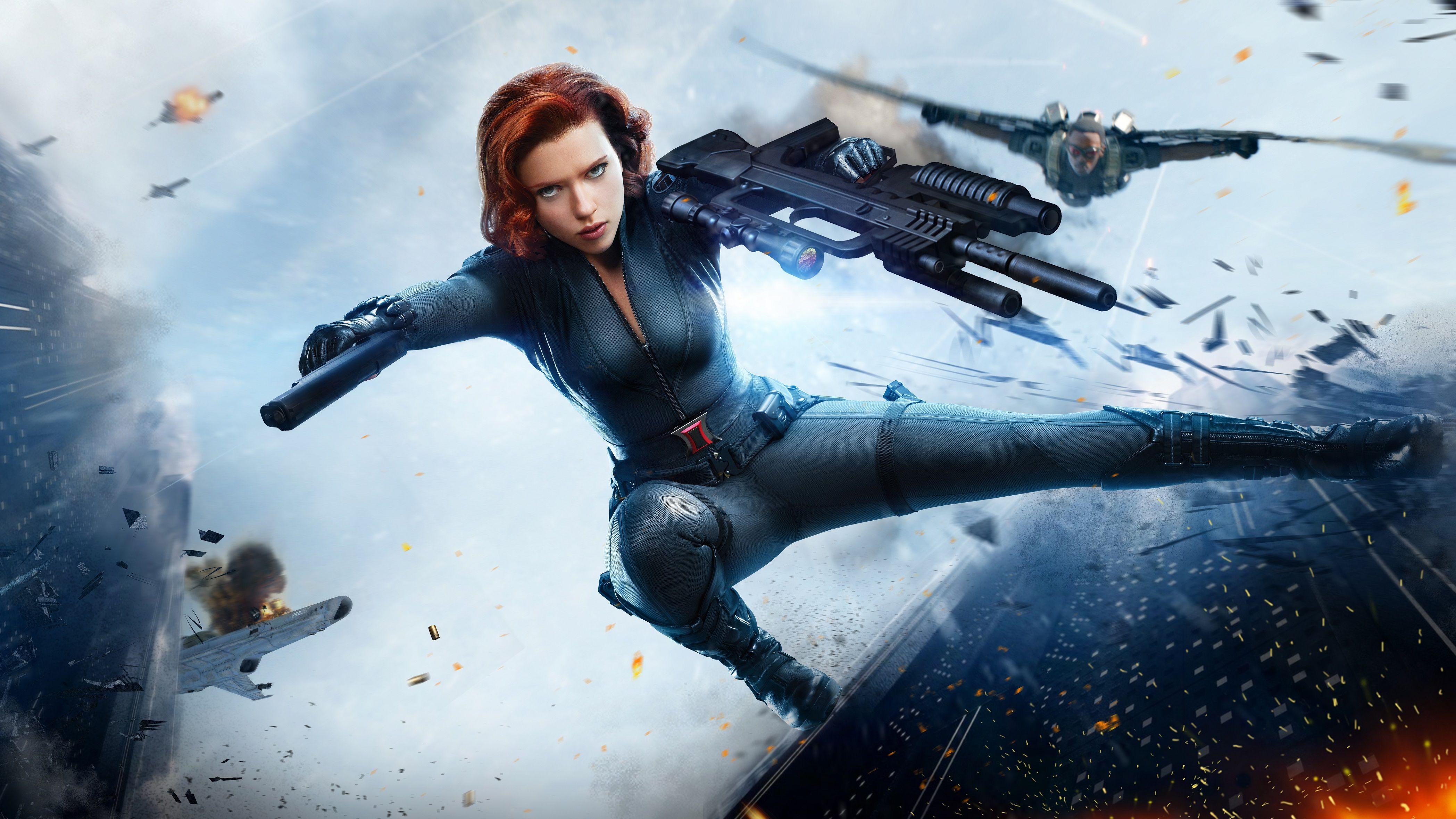 Black Widow 4k 2019, HD Superheroes, 4k Wallpapers, Images ...