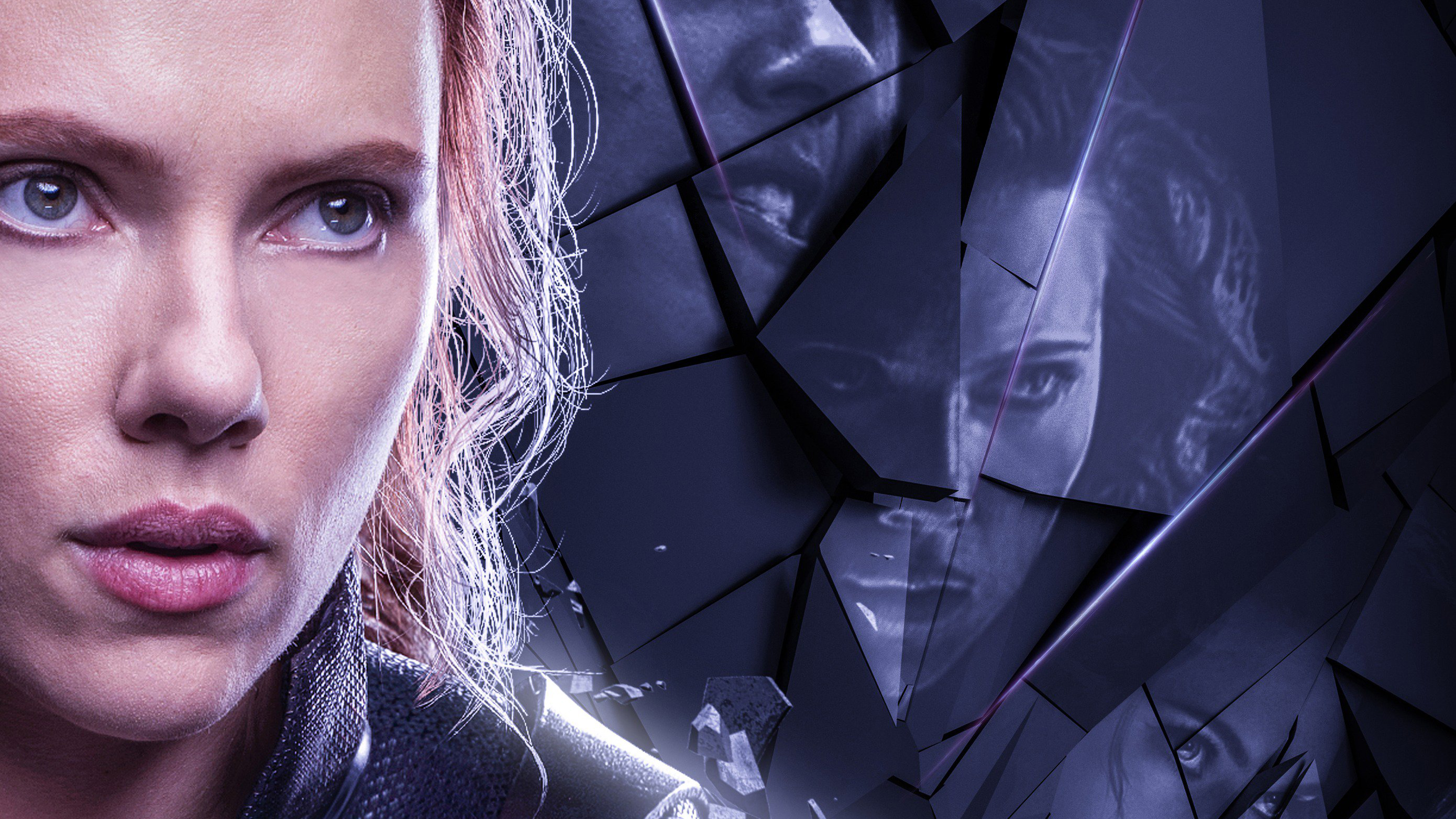 Movie Poster 2019: Black Widow In Avengers Endgame 2019 Poster, HD Movies, 4k