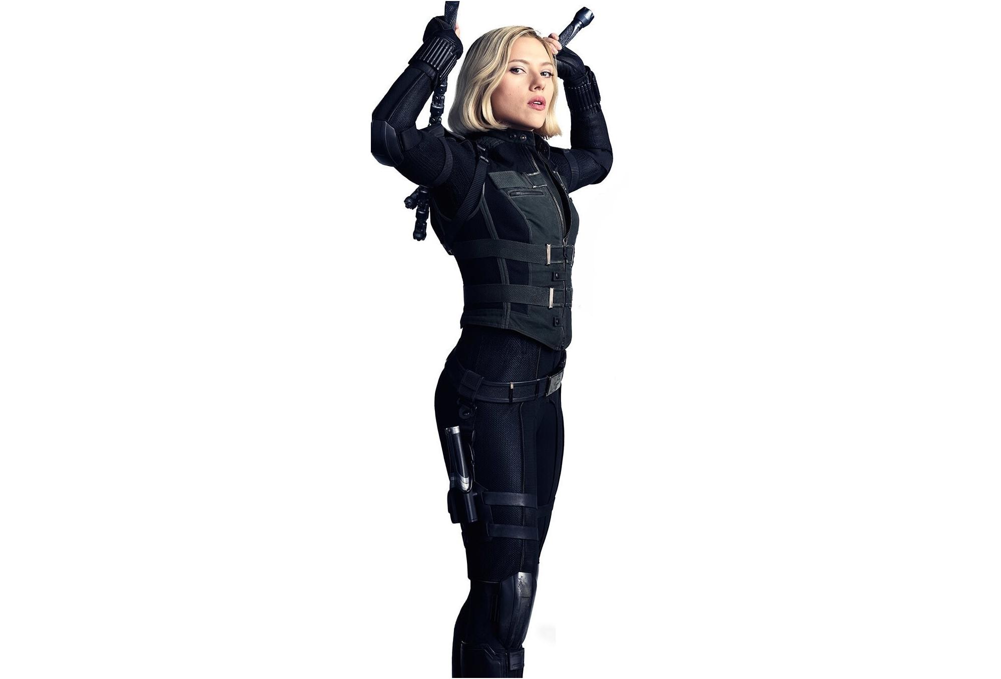 Black Widow In Avengers Infinity War 2018