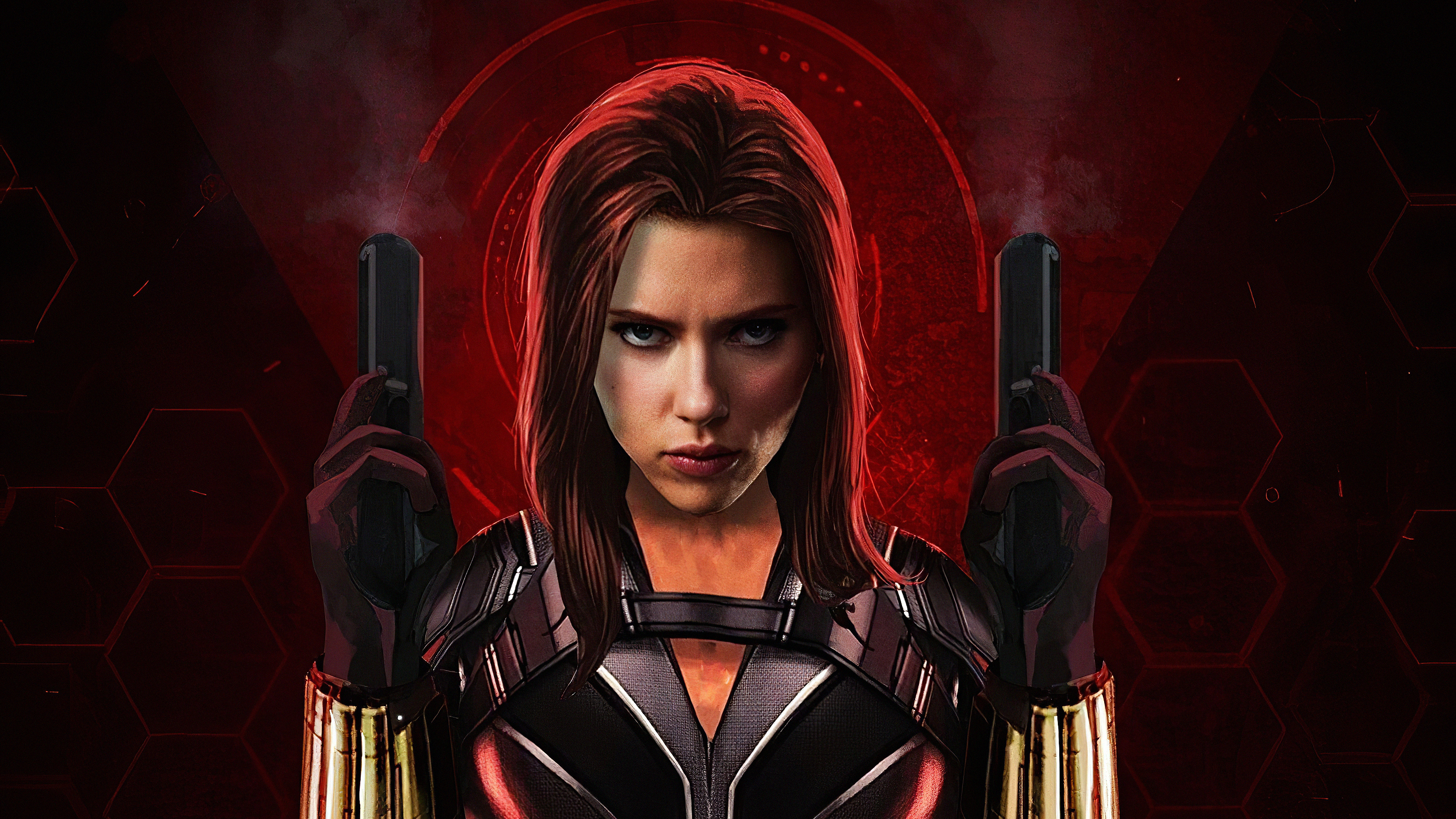 Black Widow Movie Art Hd Superheroes 4k Wallpapers Images