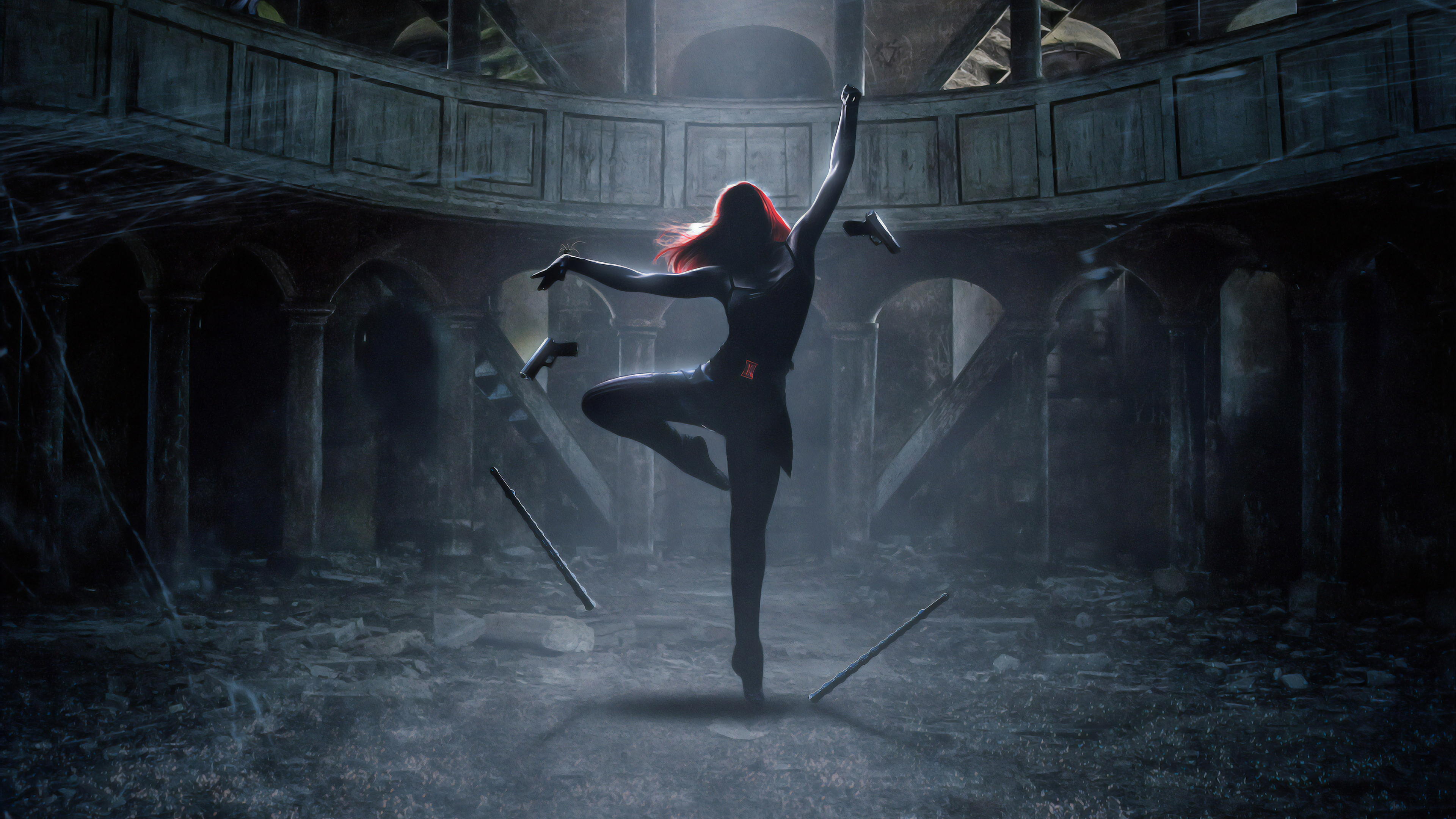 Black Widow The Dance 4k Hd Superheroes 4k Wallpapers