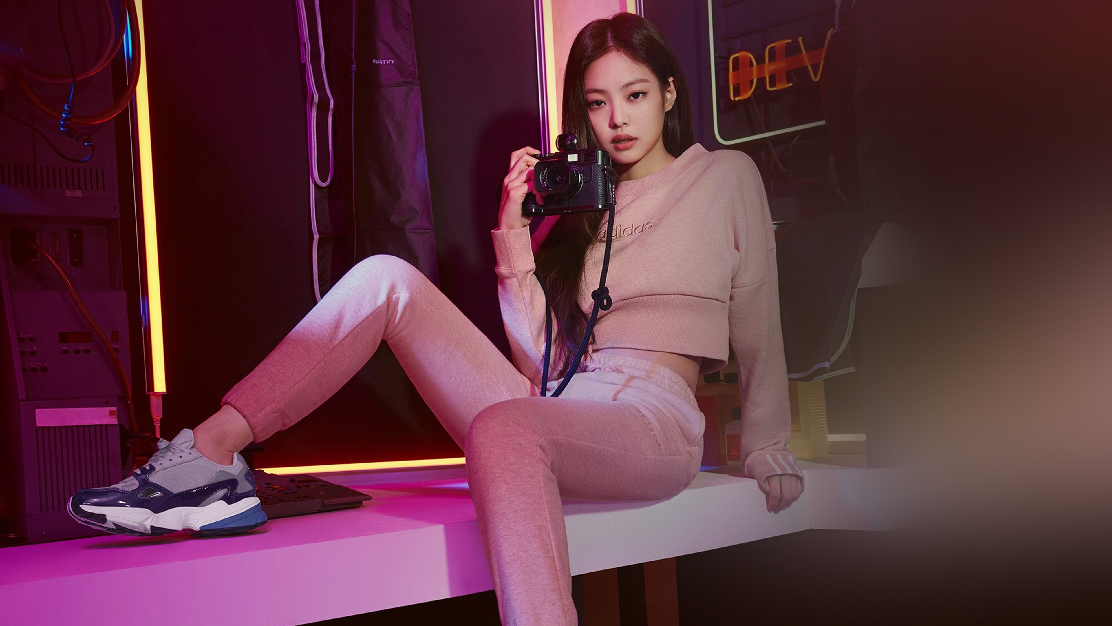 Blackpink Jennie Adidas Hd Music 4k Wallpapers Images