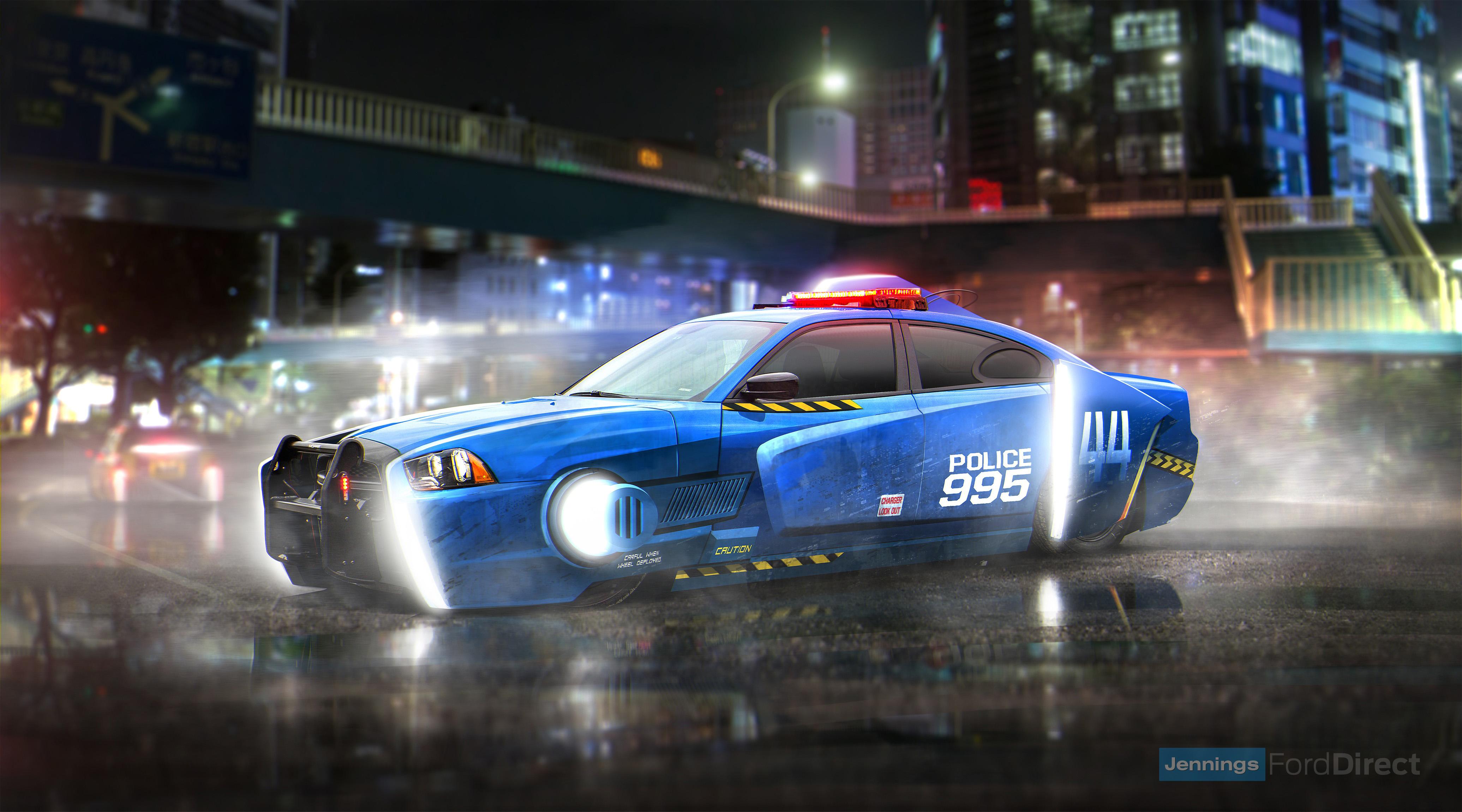Blade Runner Spinner Dodge Charger Police Car Hd Cars 4k