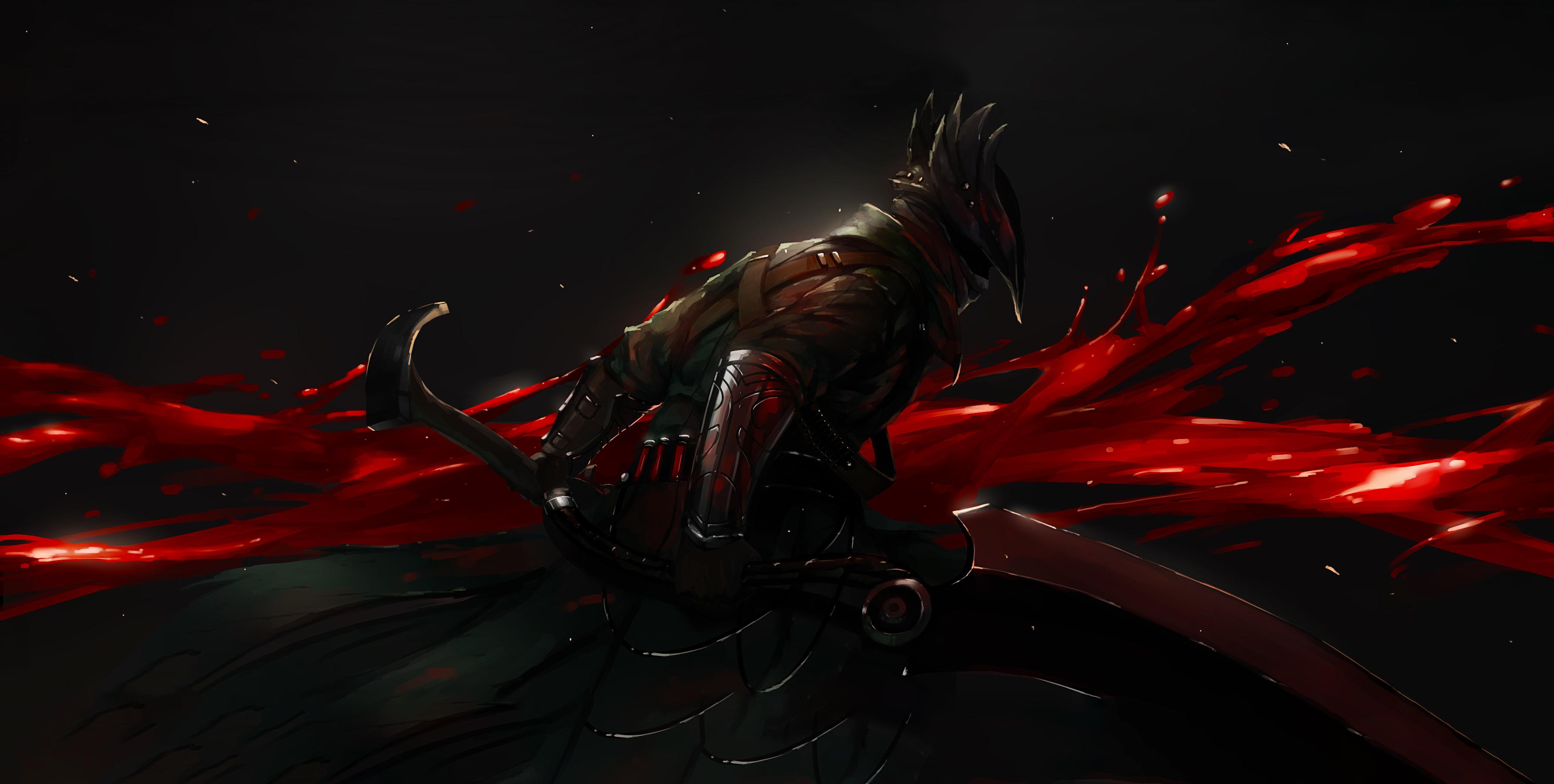 Bloodborne Knight Sword 4k, HD Games, 4k Wallpapers