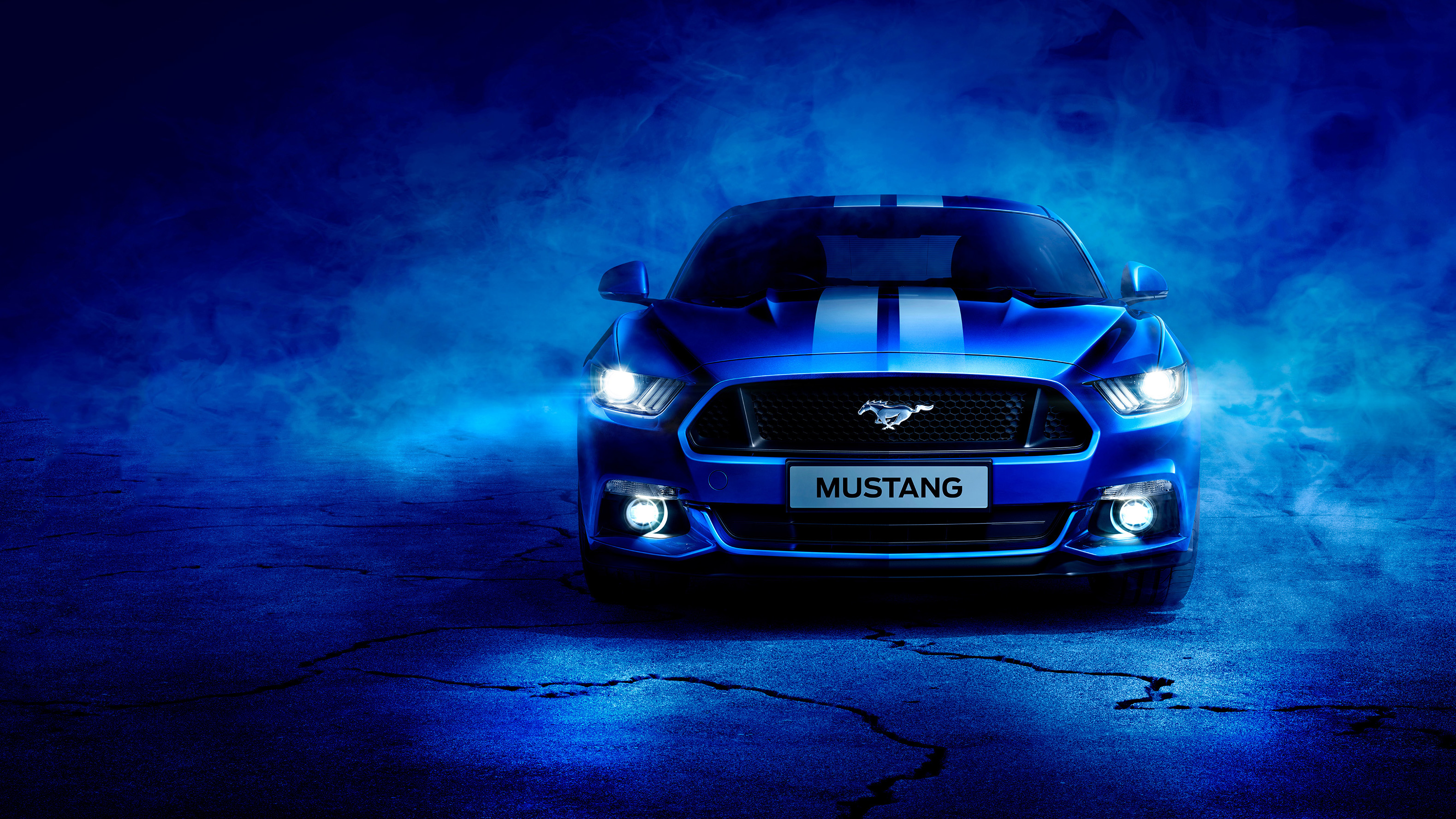 Blue ford mustang hd cars 4k wallpapers images - Cars hd wallpapers for laptop ...