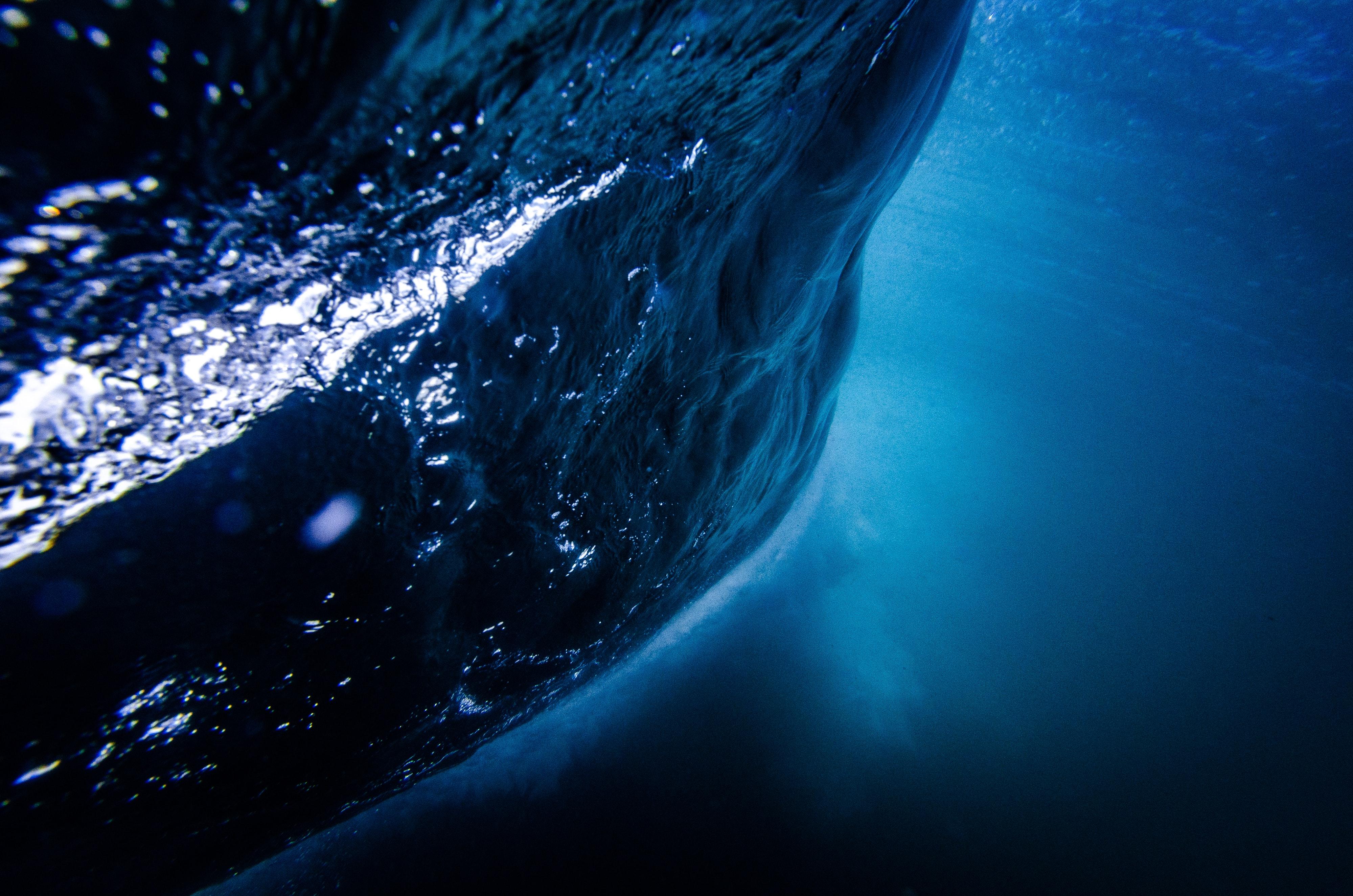 Blue Ocean Sea Underwater 4k Hd Nature 4k Wallpapers