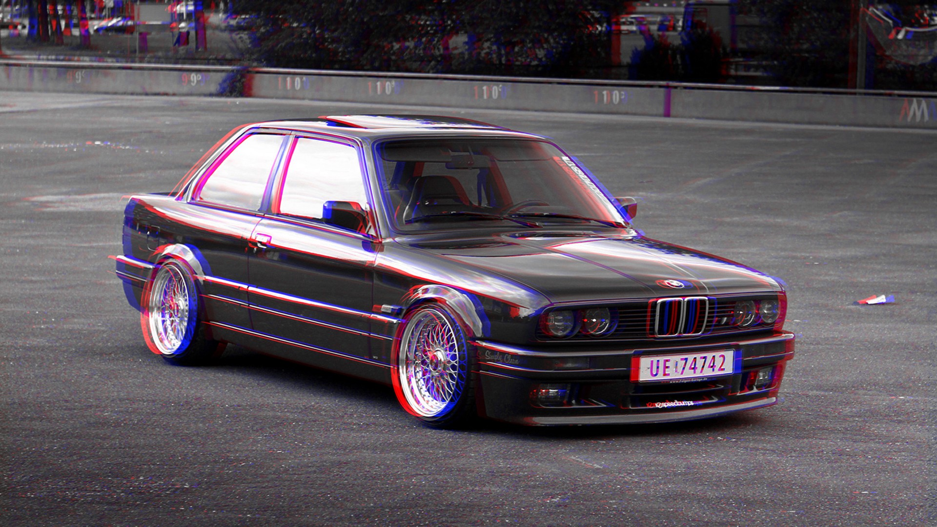 1280x800 Bmw E30 3d 720p Hd 4k Wallpapers Images