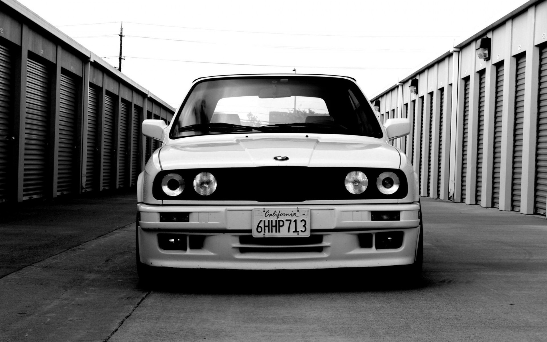 BMW E30 Monochrome, HD Cars, 4k Wallpapers, Images ...
