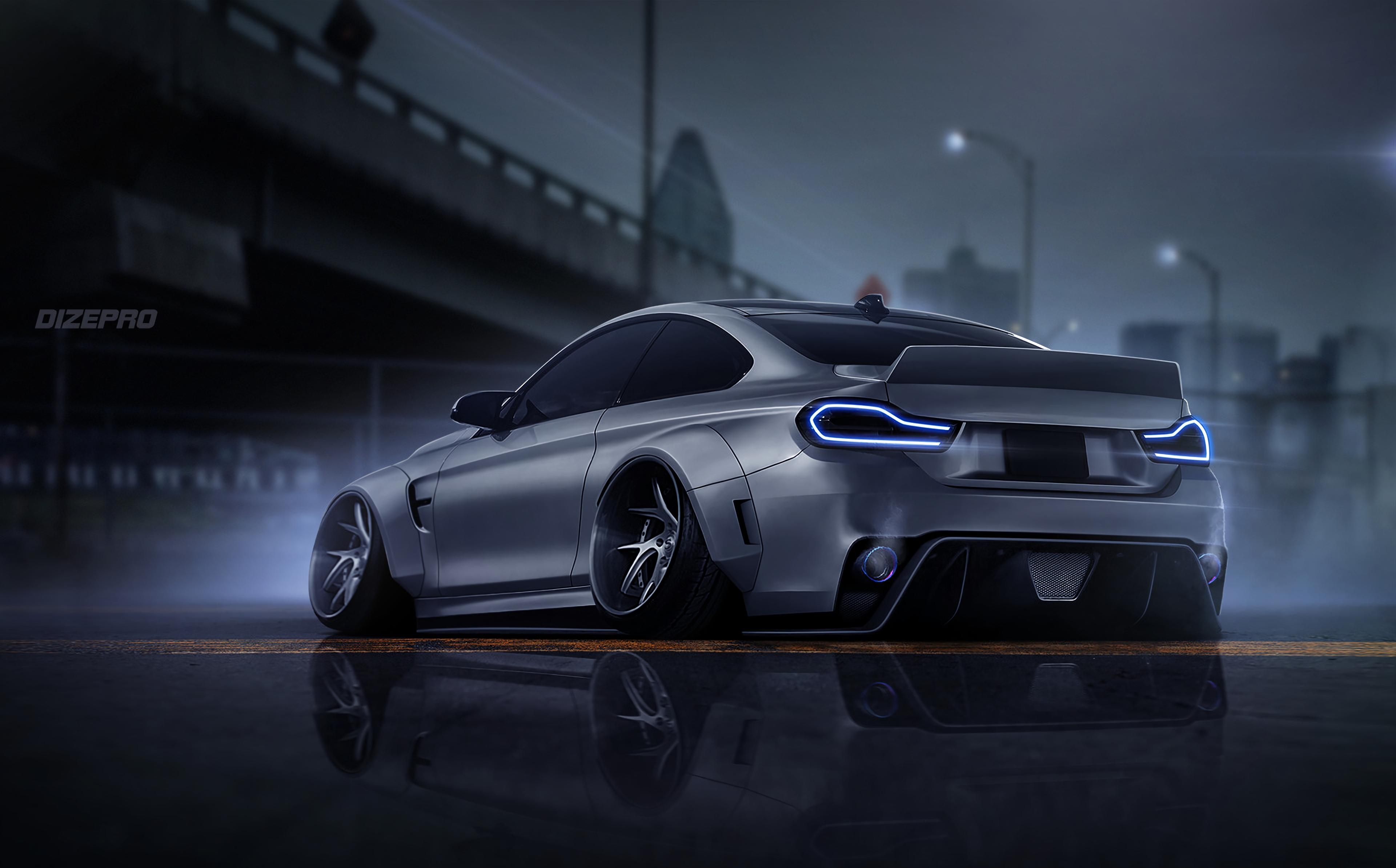Bmw F82 Dark Side Car Digital Art 4k, HD Cars, 4k ...
