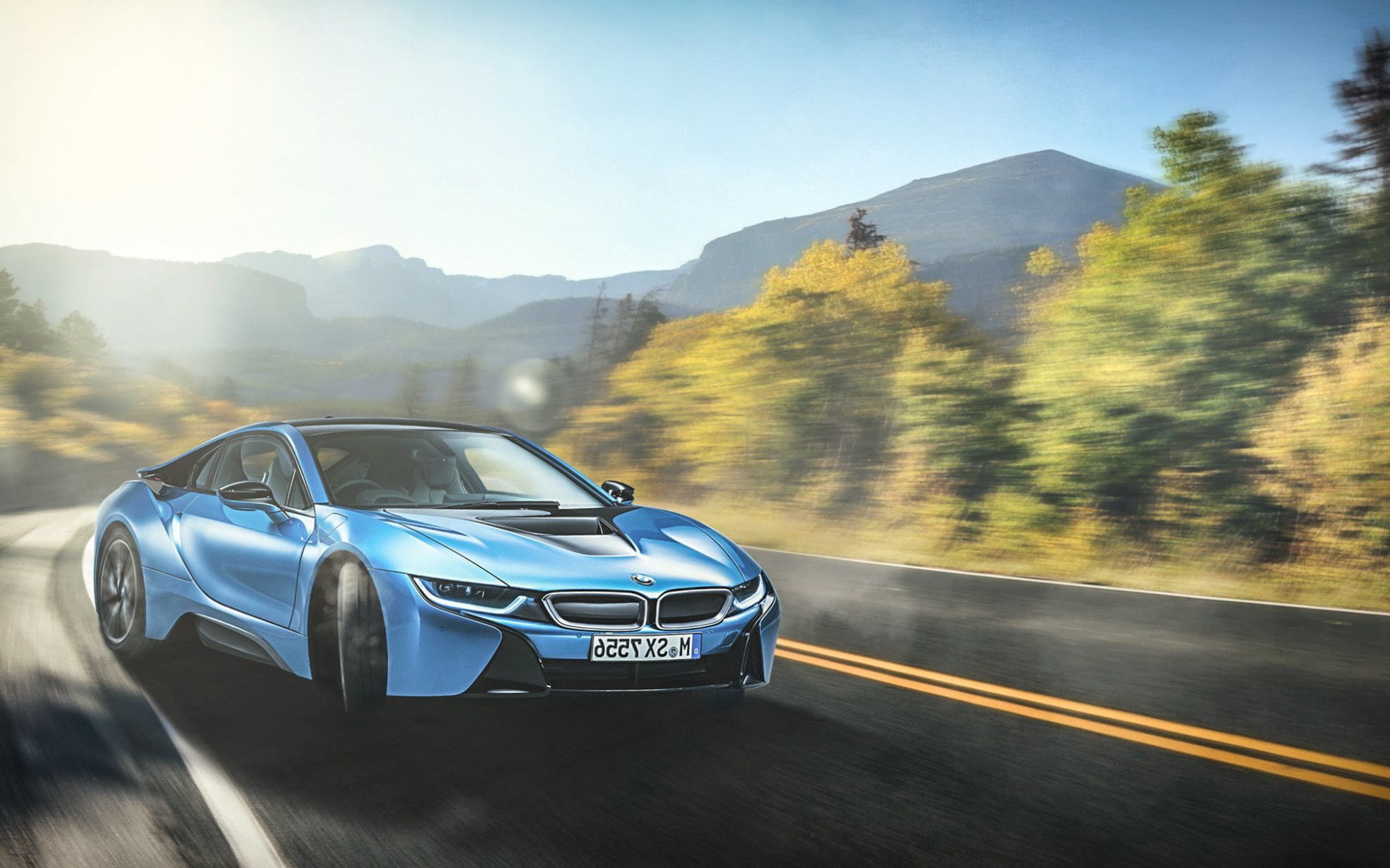 Bmw I8 Blue Hd Cars 4k Wallpapers Images Backgrounds Photos And
