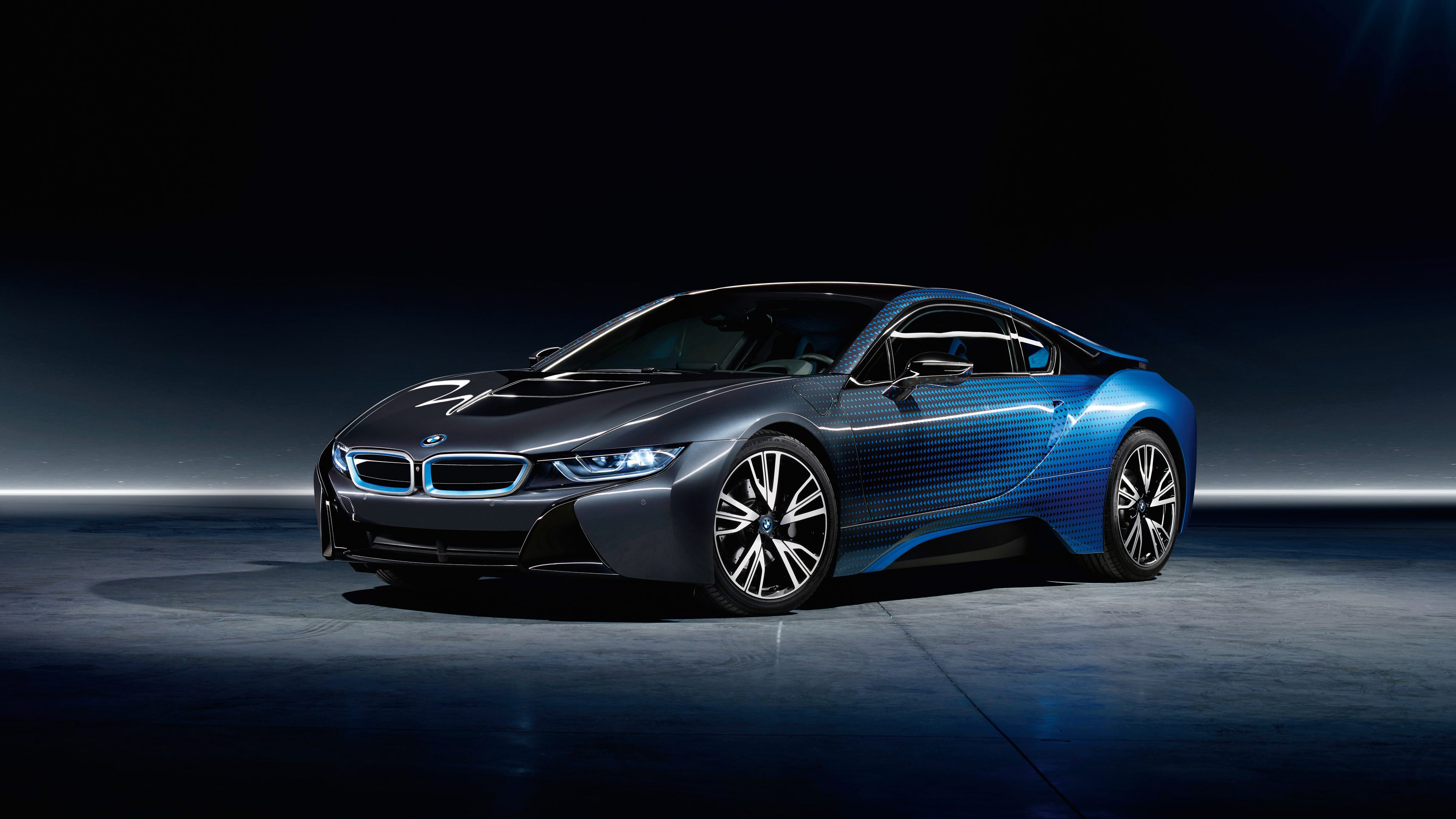 Bmw I Wallpaper With Paint Job
