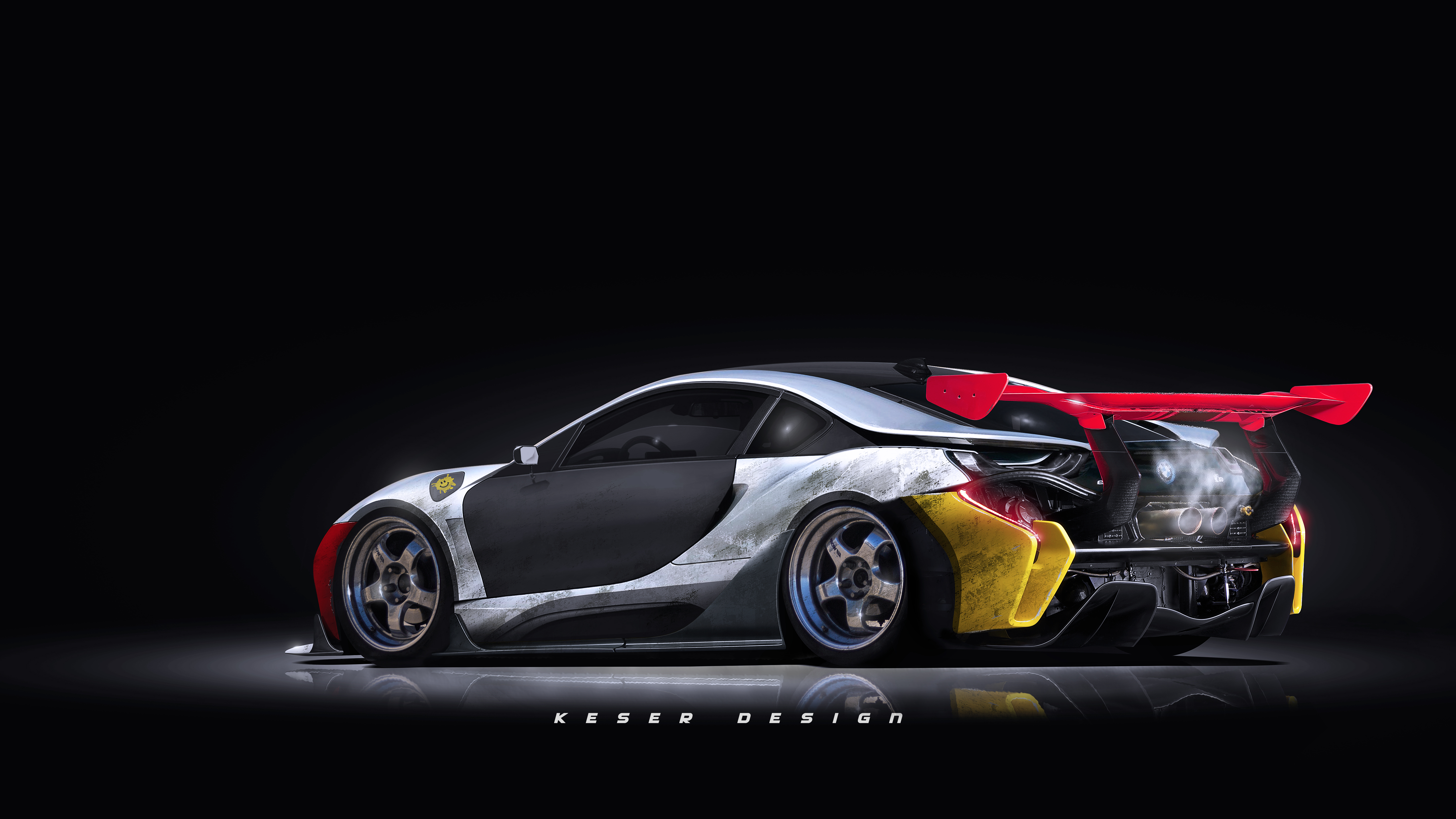 Bmw I8 Digital Art Tuned Hd Cars 4k Wallpapers Images