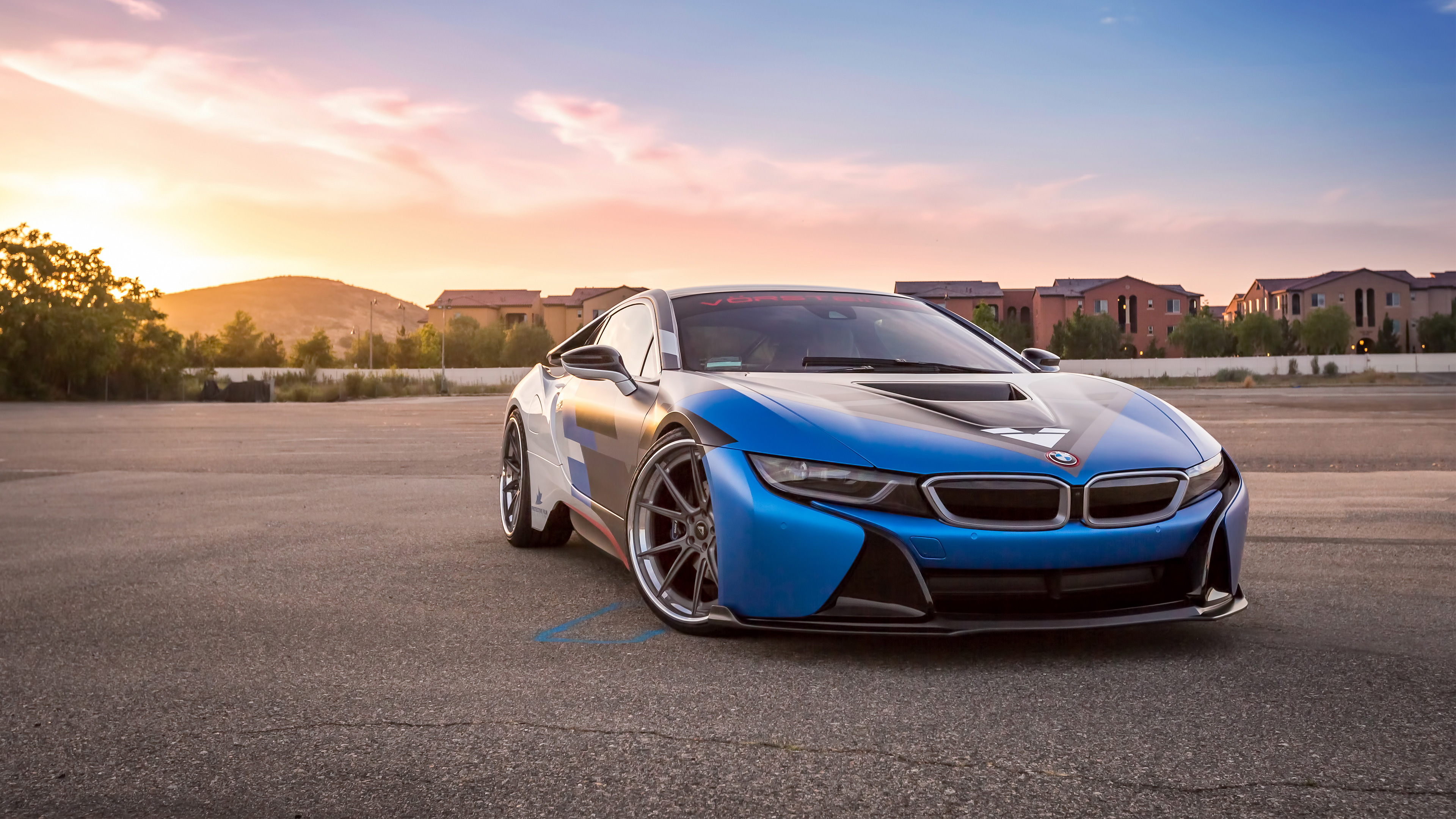 Bmw I8 Vorsteiner Hd Cars 4k Wallpapers Images Backgrounds