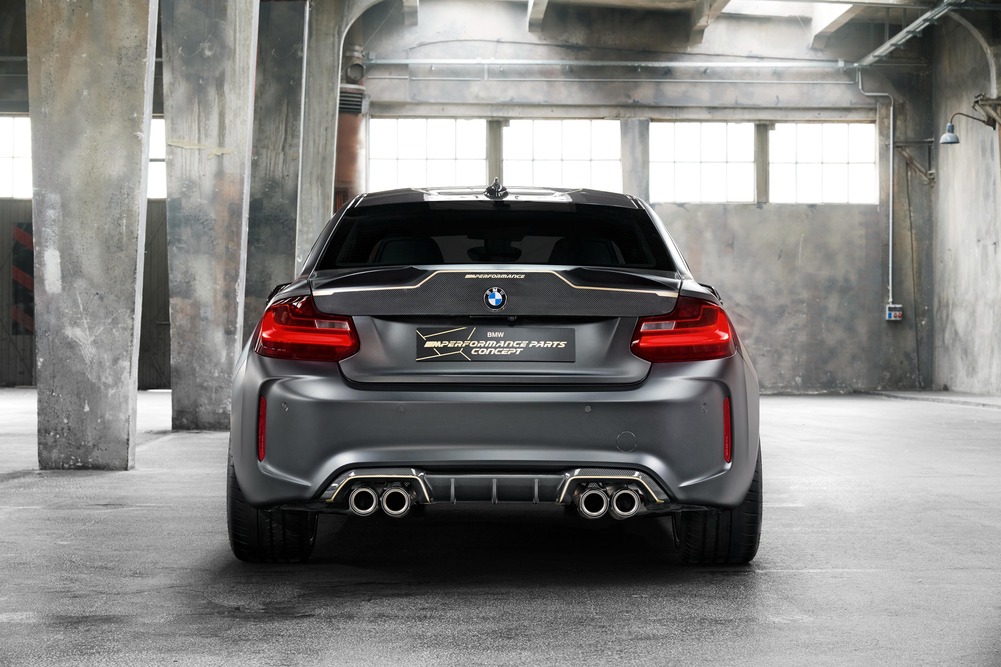 BMW M2 M Performance Parts Concept 2018 Rear, HD Cars, 4k ...