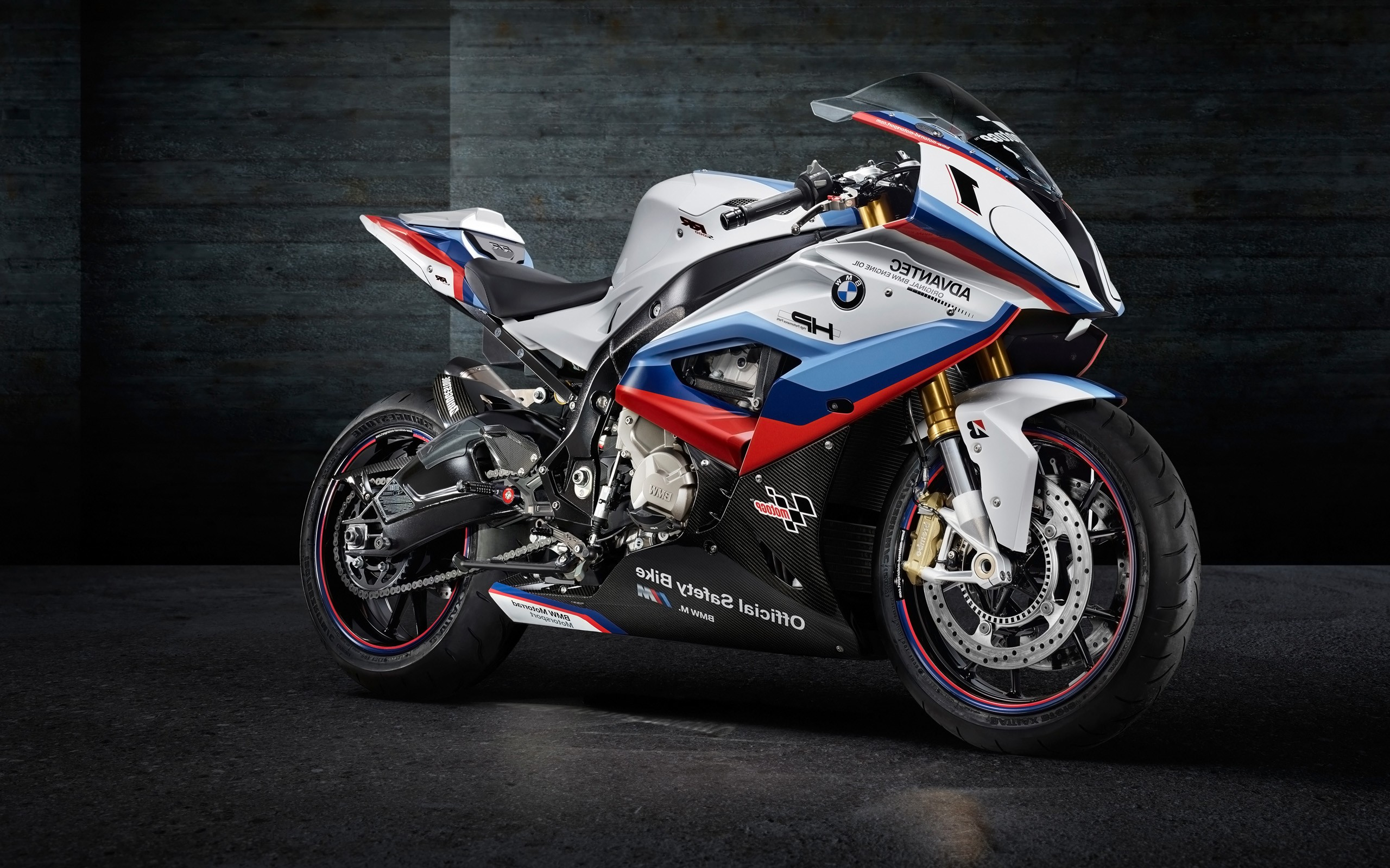 BMW M4 MotoGP Safety Bike