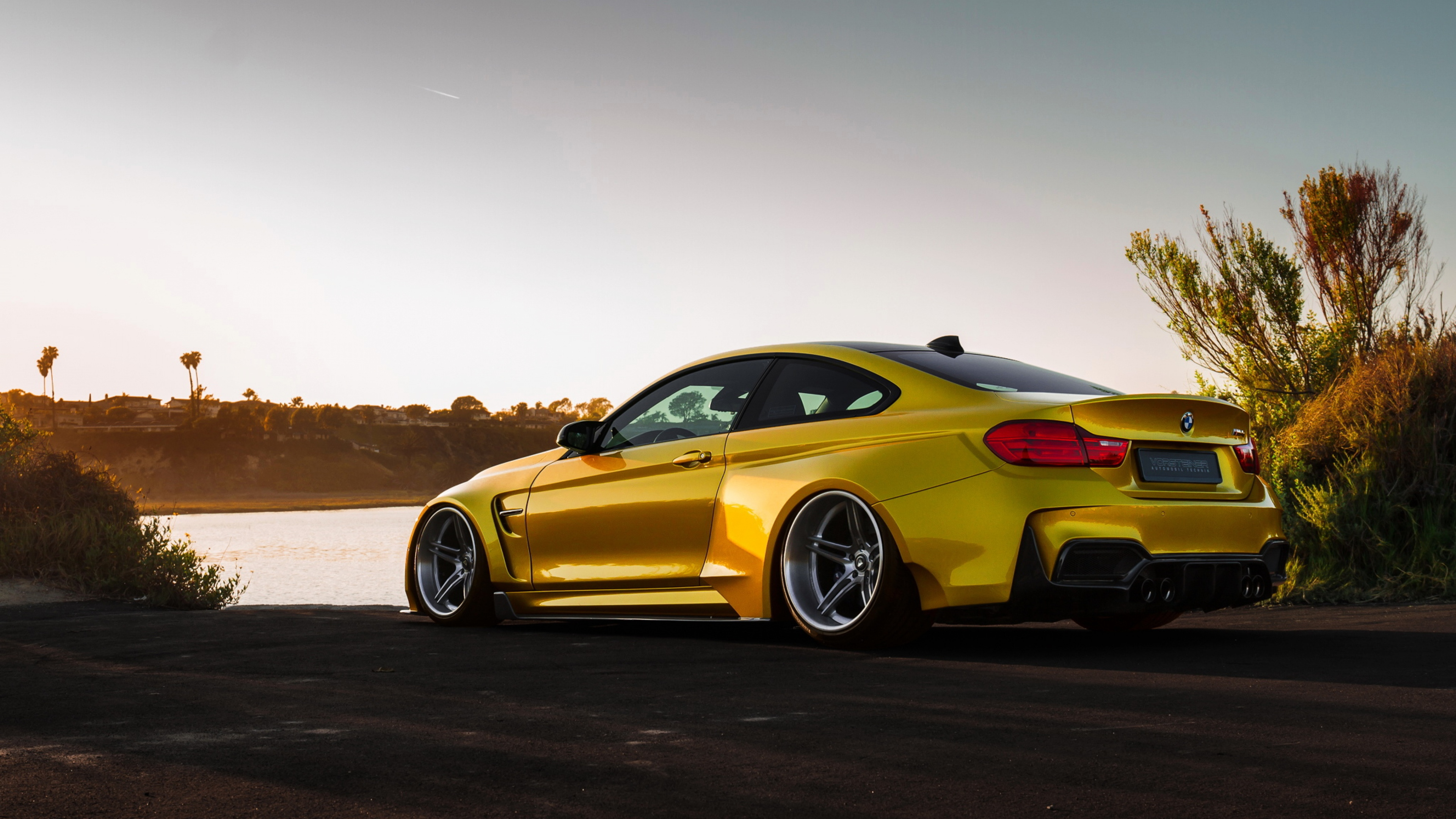 Bmw M4 Vorsteiner Gold Hd Cars 4k Wallpapers Images Backgrounds Photos And Pictures