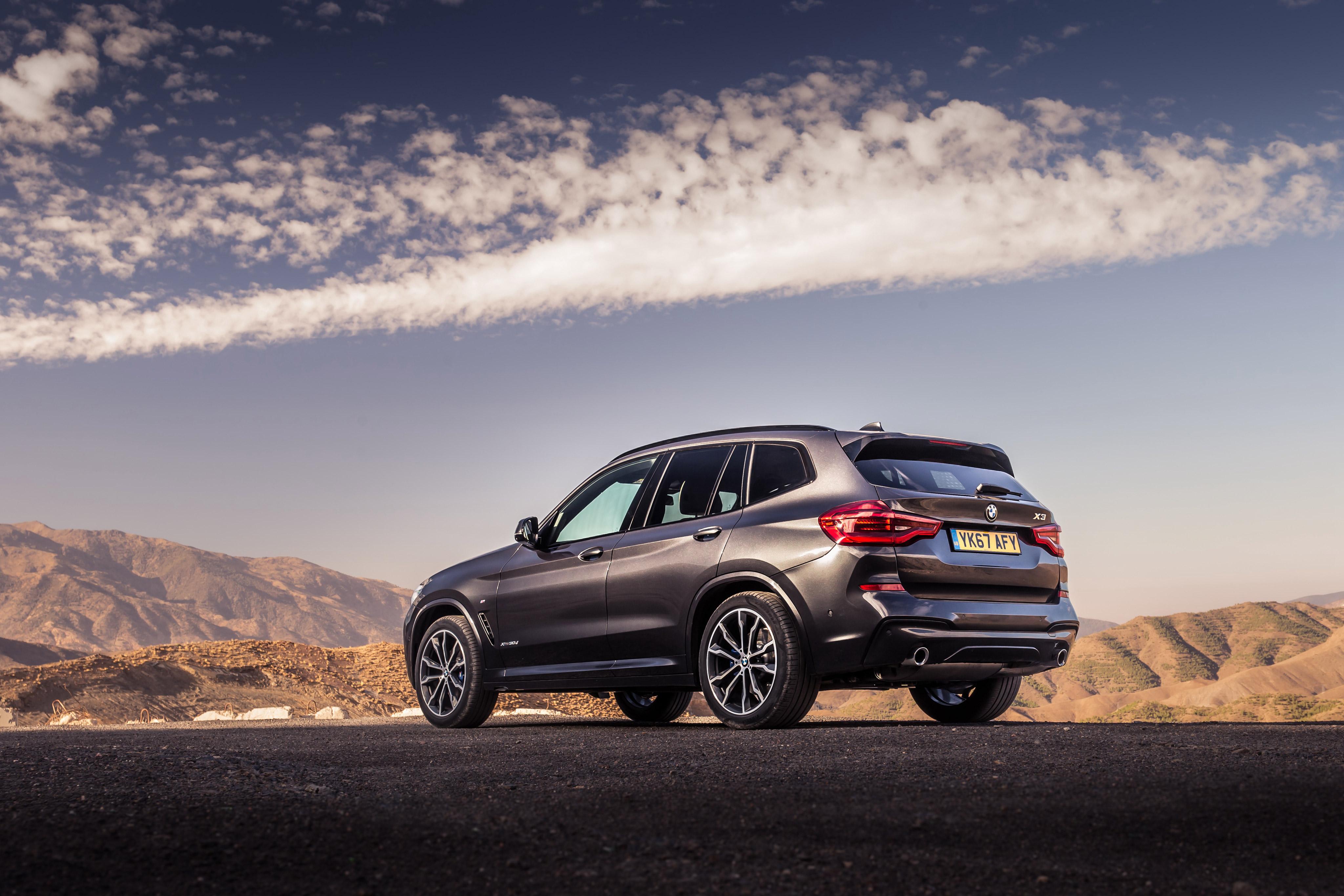 BMW X3 XDrive30d M Sport 2017 Rear, HD Cars, 4k Wallpapers ...