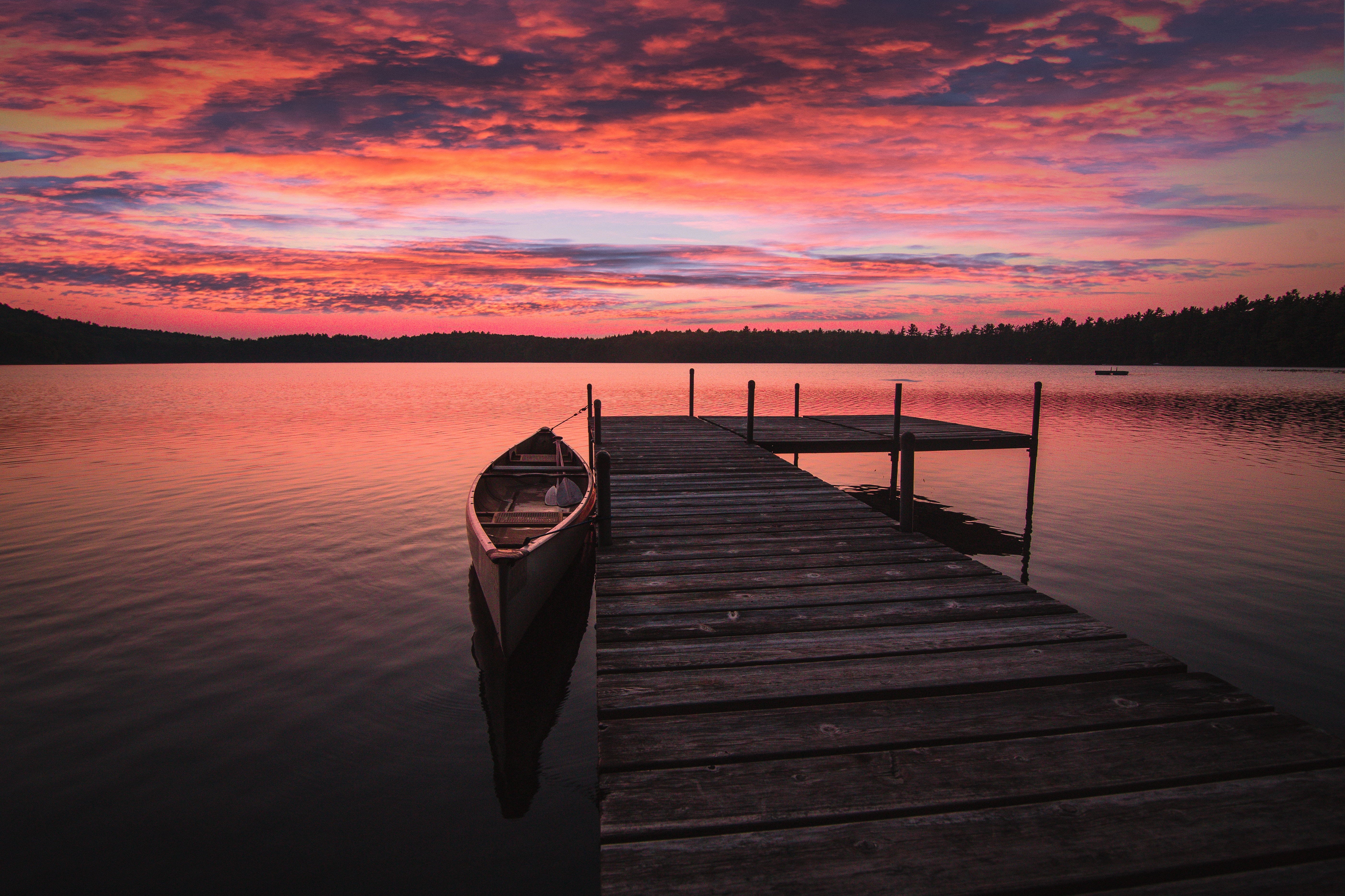 Boat Dock Sunrise 5k, HD Nature, 4k Wallpapers, Images ...
