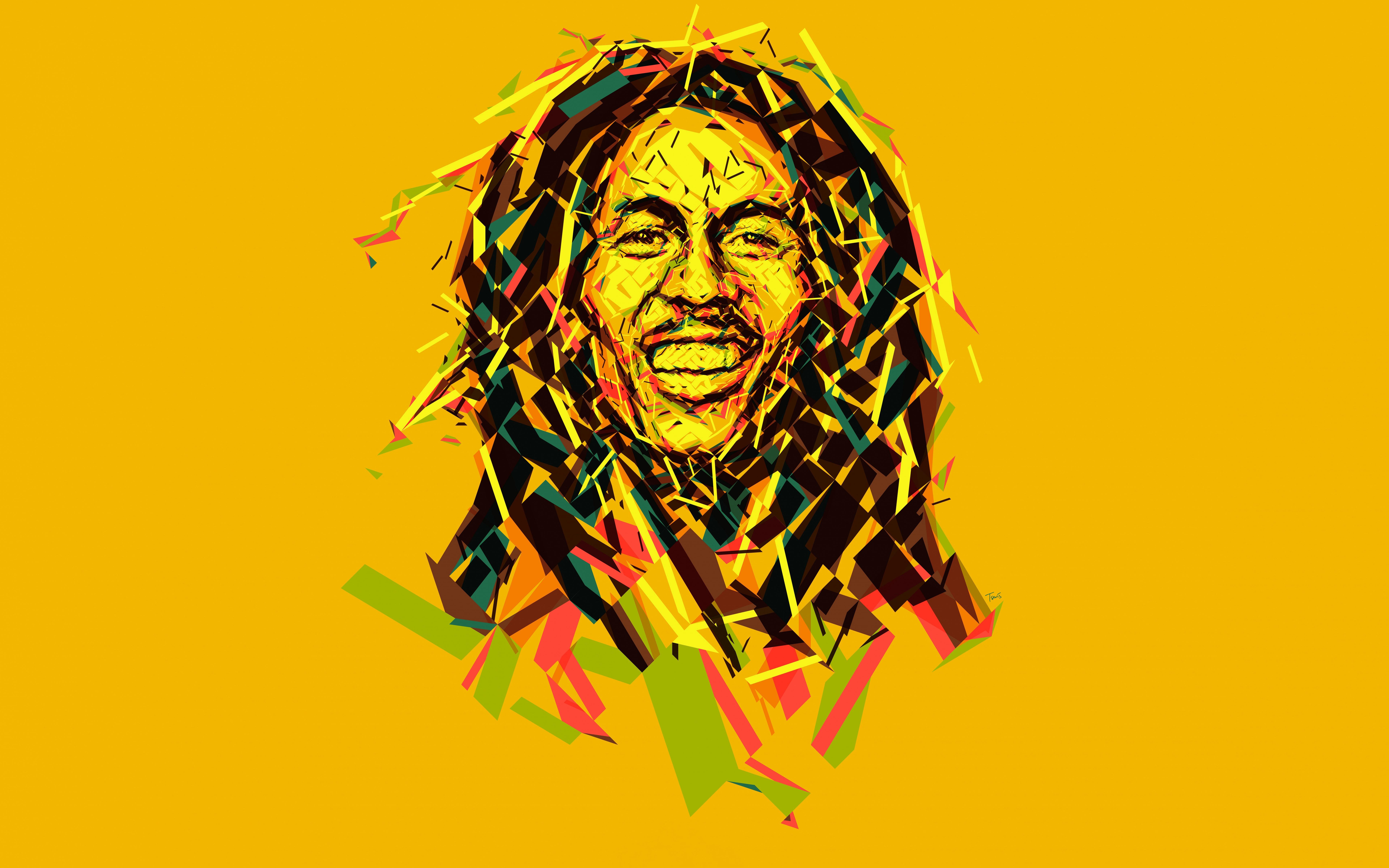 Bob Marley Abstract Artwork 8k Hd Music 4k Wallpapers Images