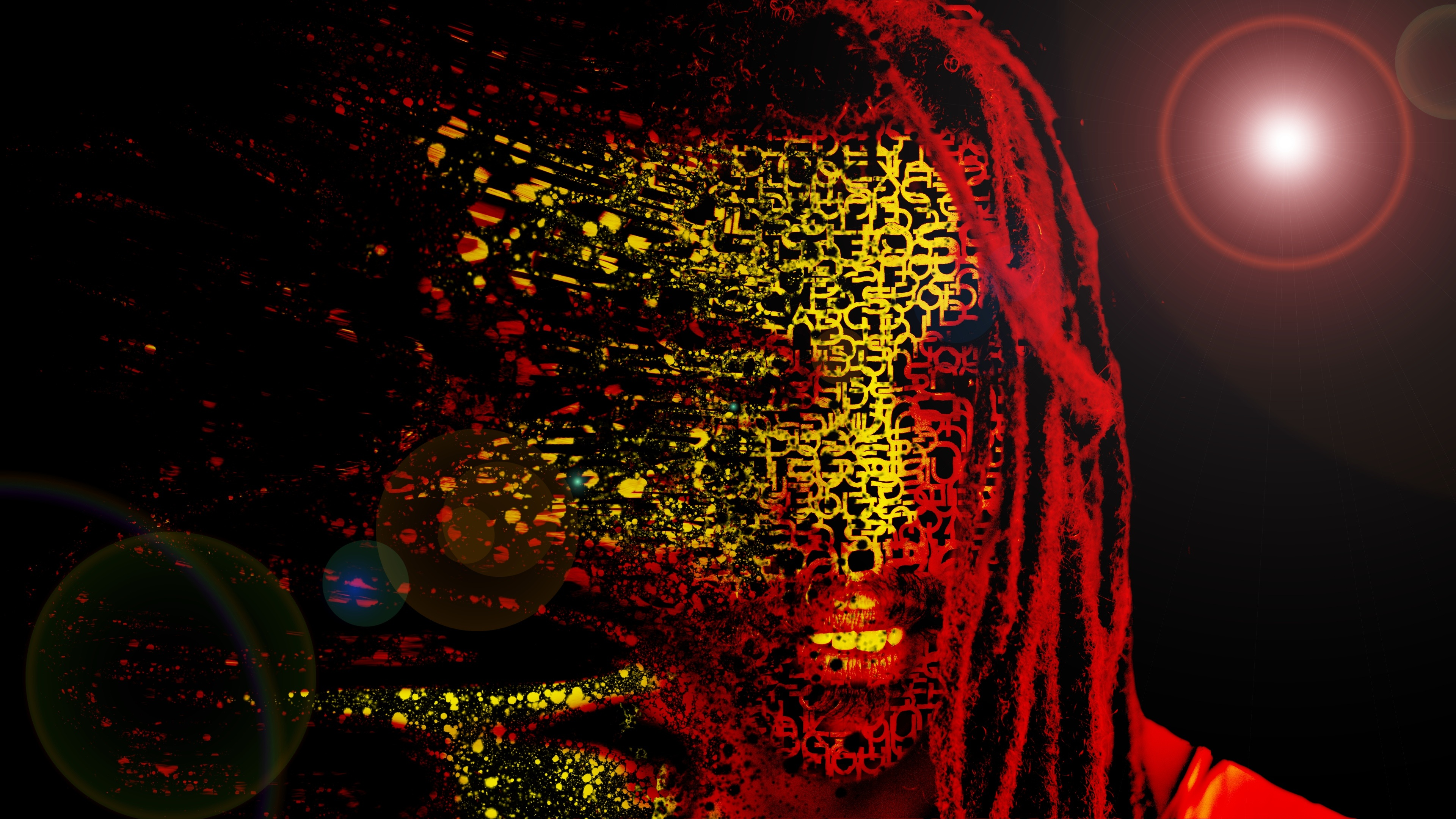 Bob Marley Mask Abstract Artwork 4k Hd Creative 4k Wallpapers