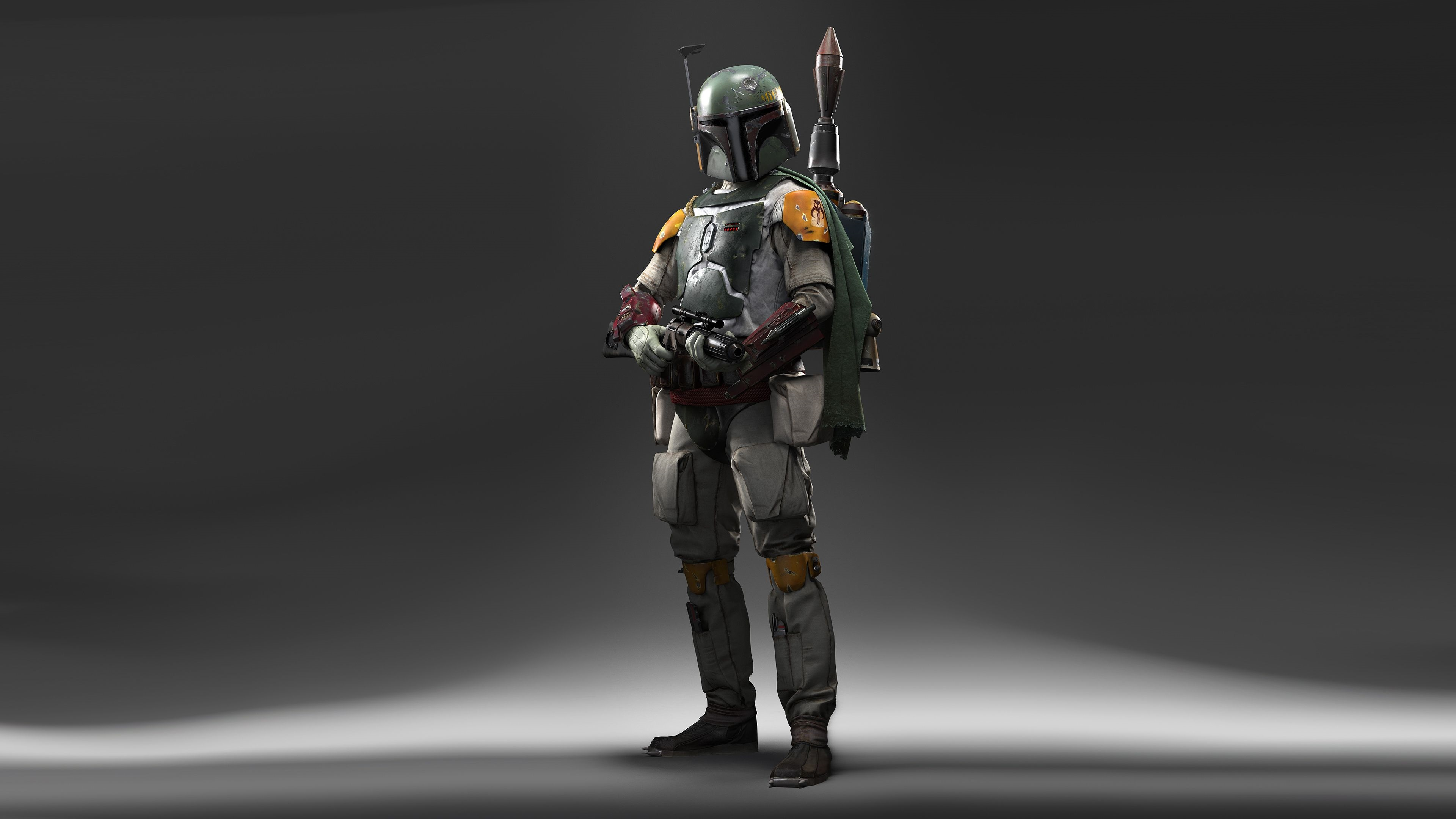 Boba Fett Star Wars 4k