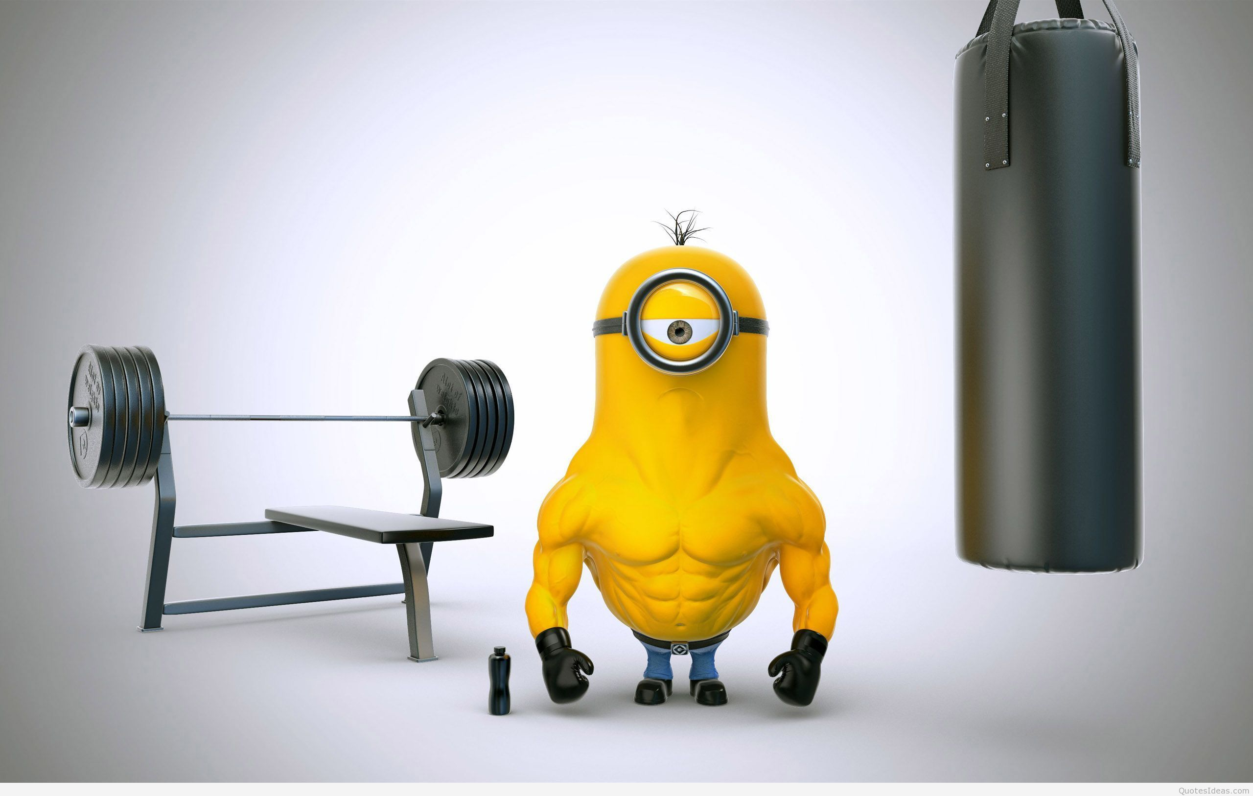 Bodybuilder Minion