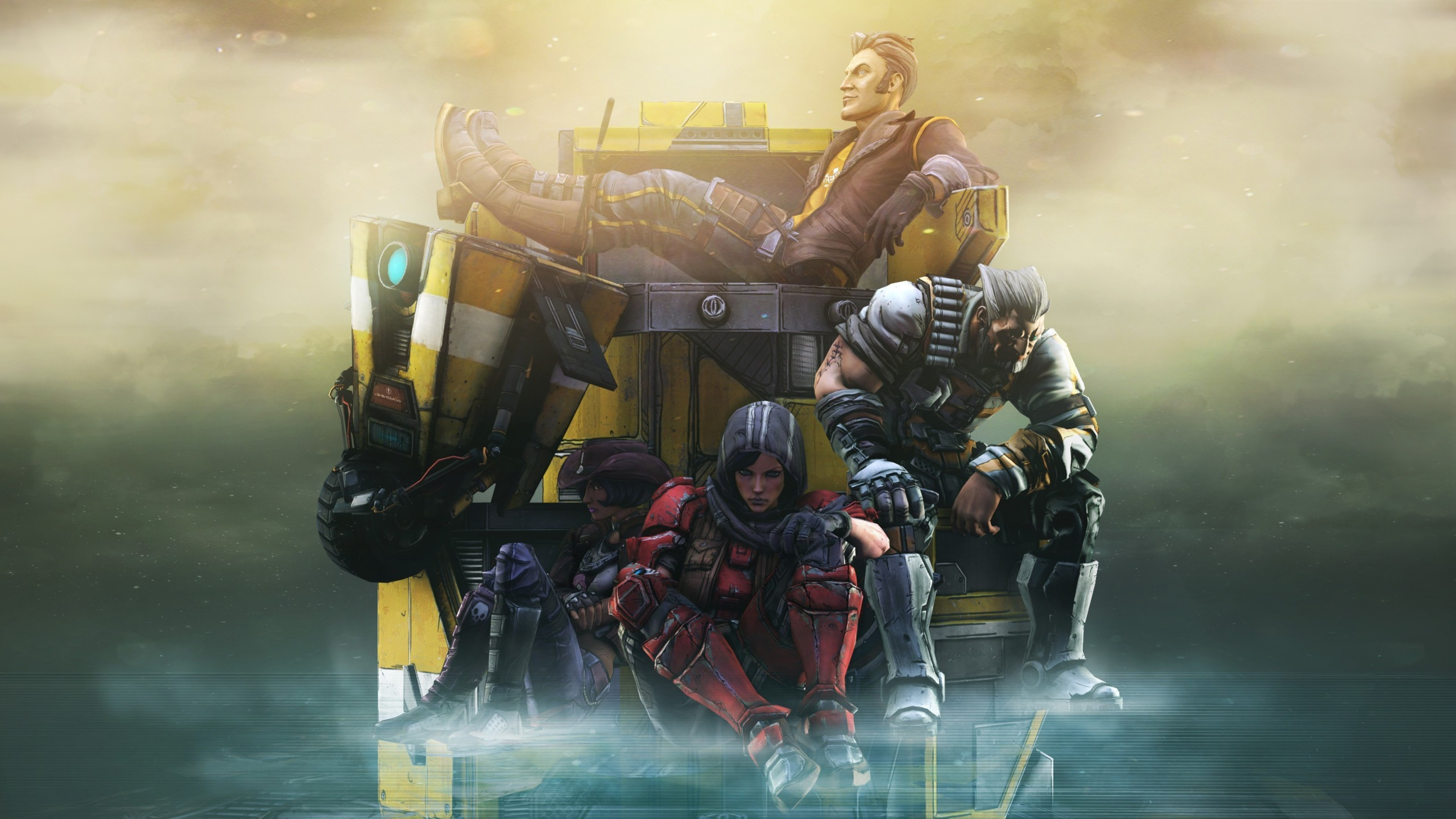 Borderlands the pre sequel hd games 4k wallpapers images borderlands the pre sequel voltagebd Image collections