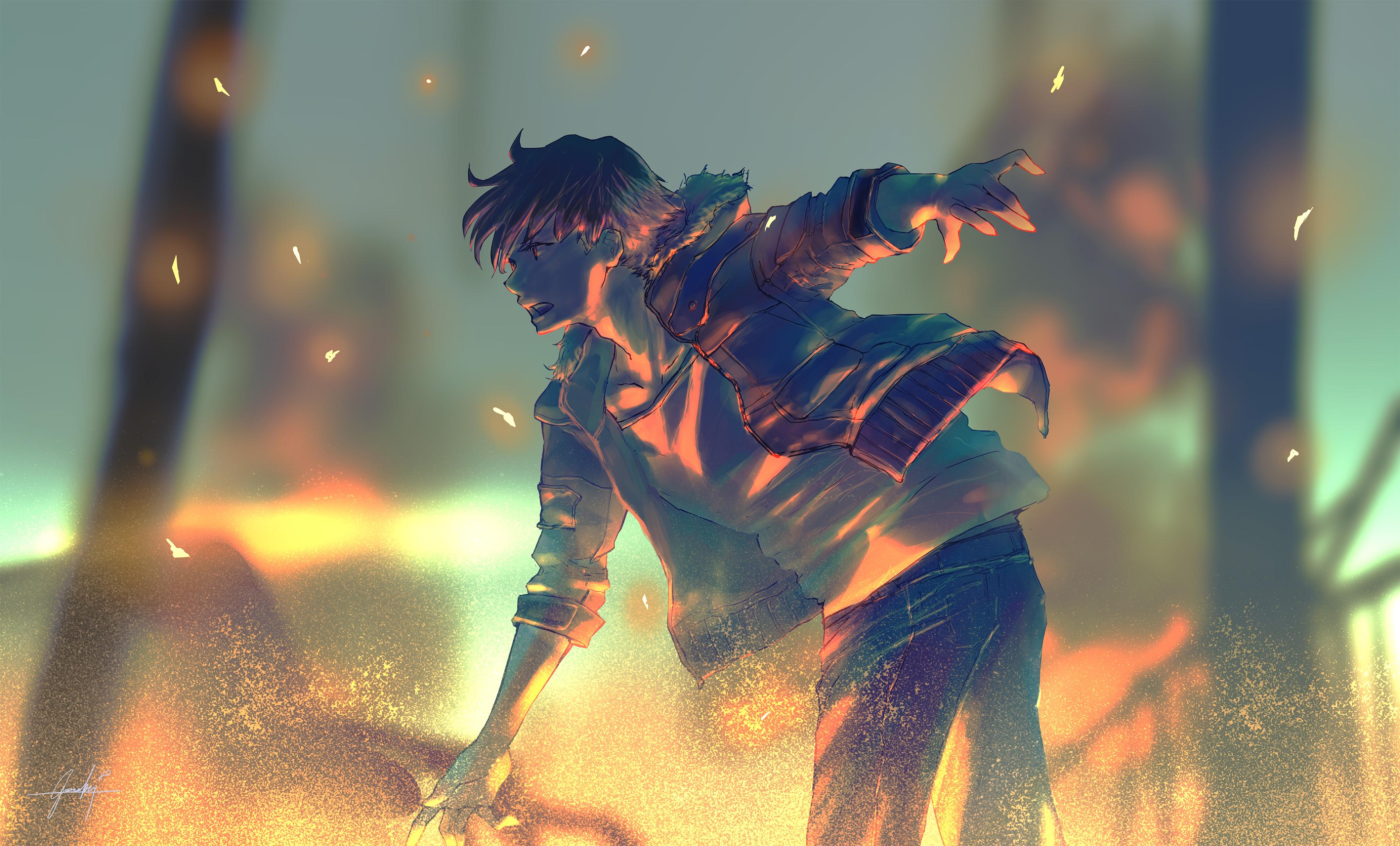 Boy Anime Artwork, HD Anime, 4k Wallpapers, Images ...