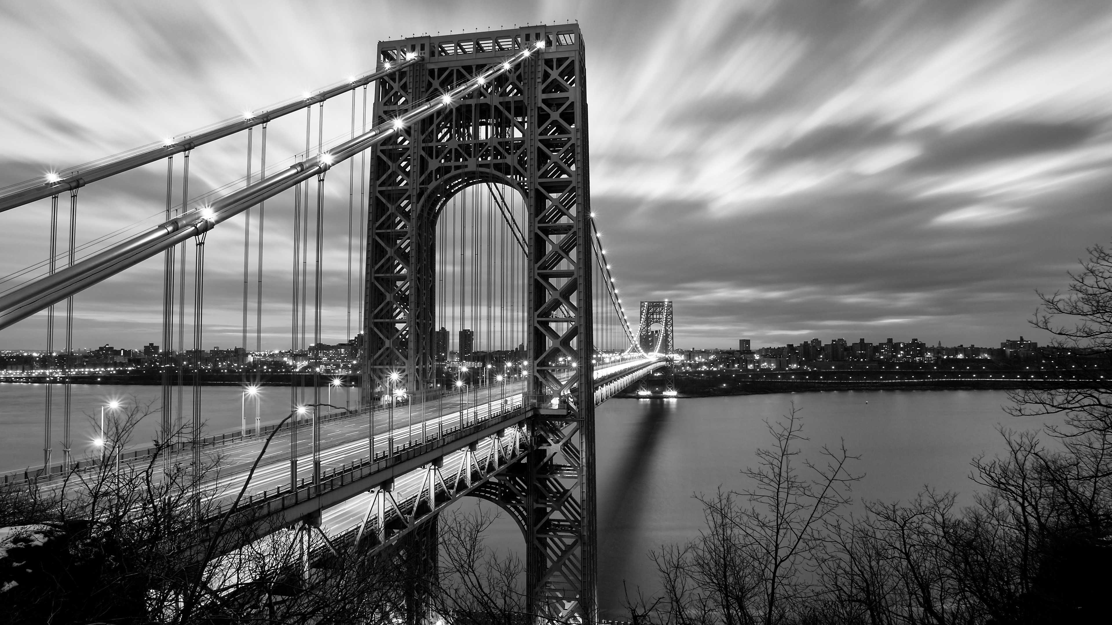 Bridge Black and White, HD Photography, 4k Wallpapers ...