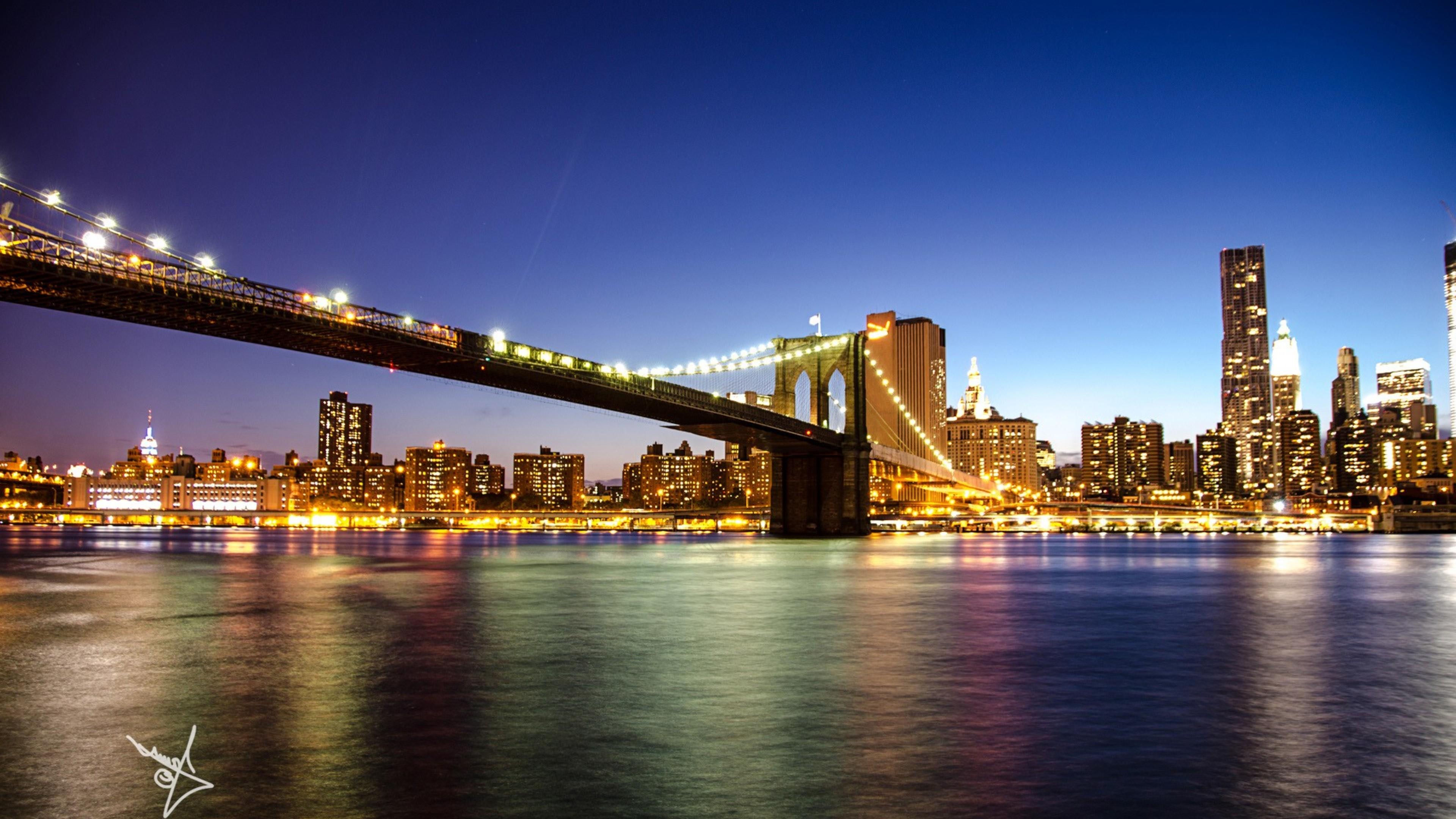 Brooklyn Bridge In New York Macbook Pro Retina