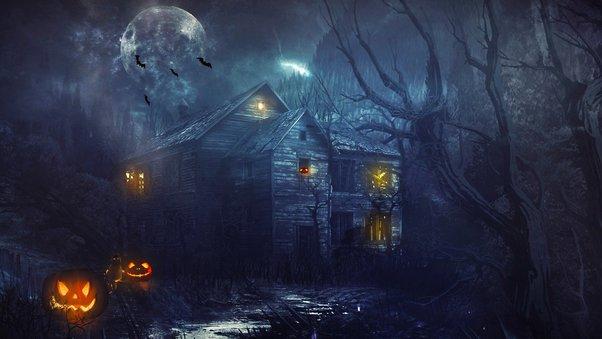 Haunted house  № 587628 бесплатно
