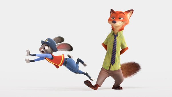 2016 Zootopia Animated Movie