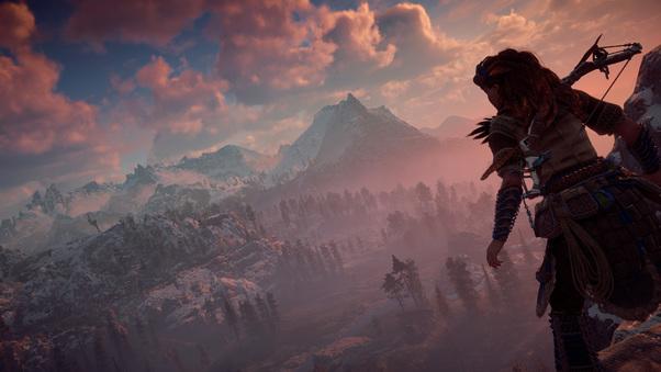 2017 Horizon Zero Dawn PS4 Pro, HD Games, 4k Wallpapers