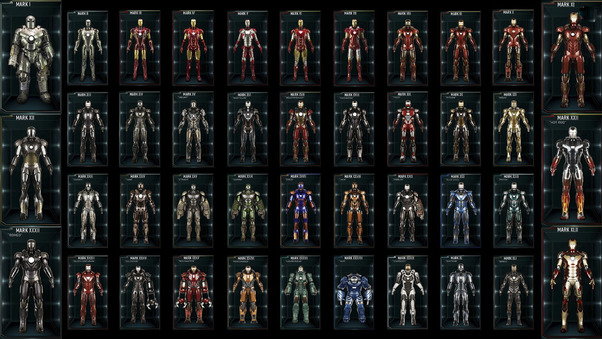 All Iron Man Suits