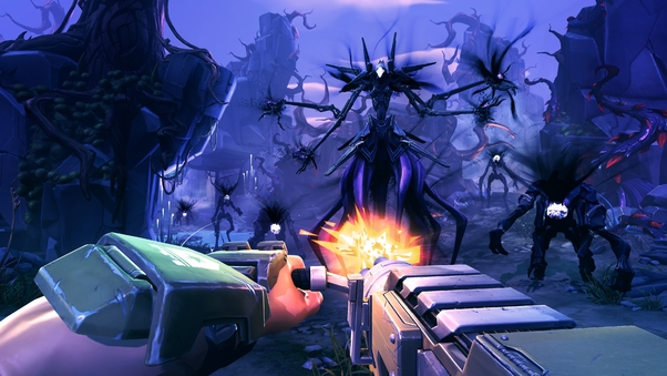 Battleborn Shooting Gun