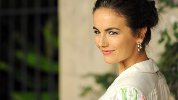 Camilla Belle Smiling