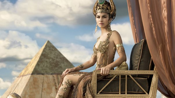 Elodie Yung As Hathor Gods Of Egypt