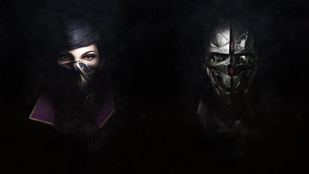 Emily And Corvo Dishonored 2 4k