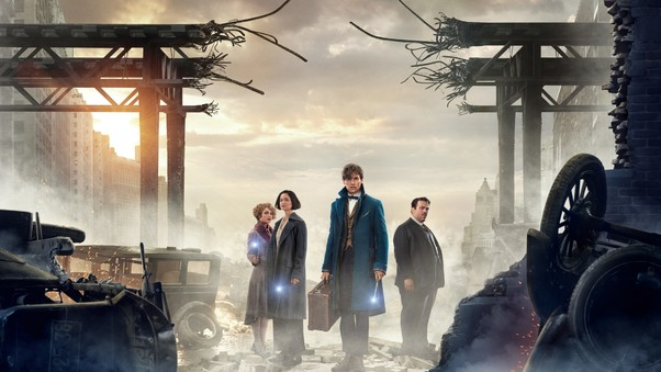 Fantastic Beasts And Where To Find Them 4k