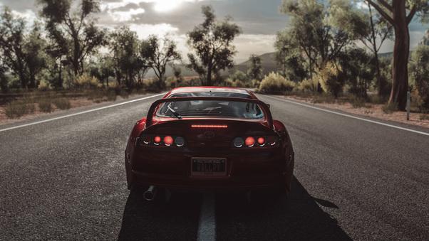 Forza Horizon 3 Toyota Supra, HD Games, 4k Wallpapers